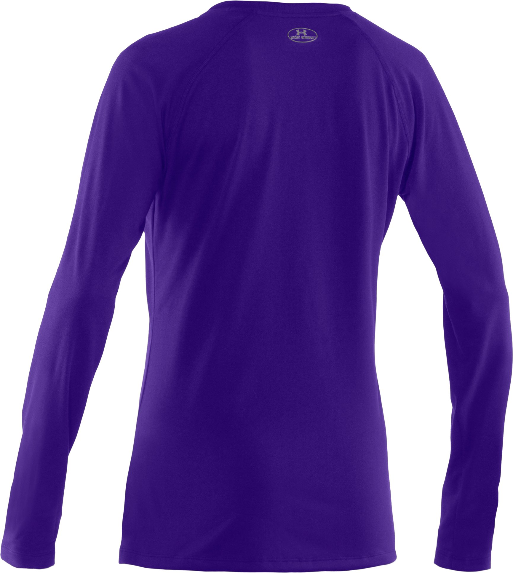 Women's UA Tech™ Long Sleeve, Pluto, undefined