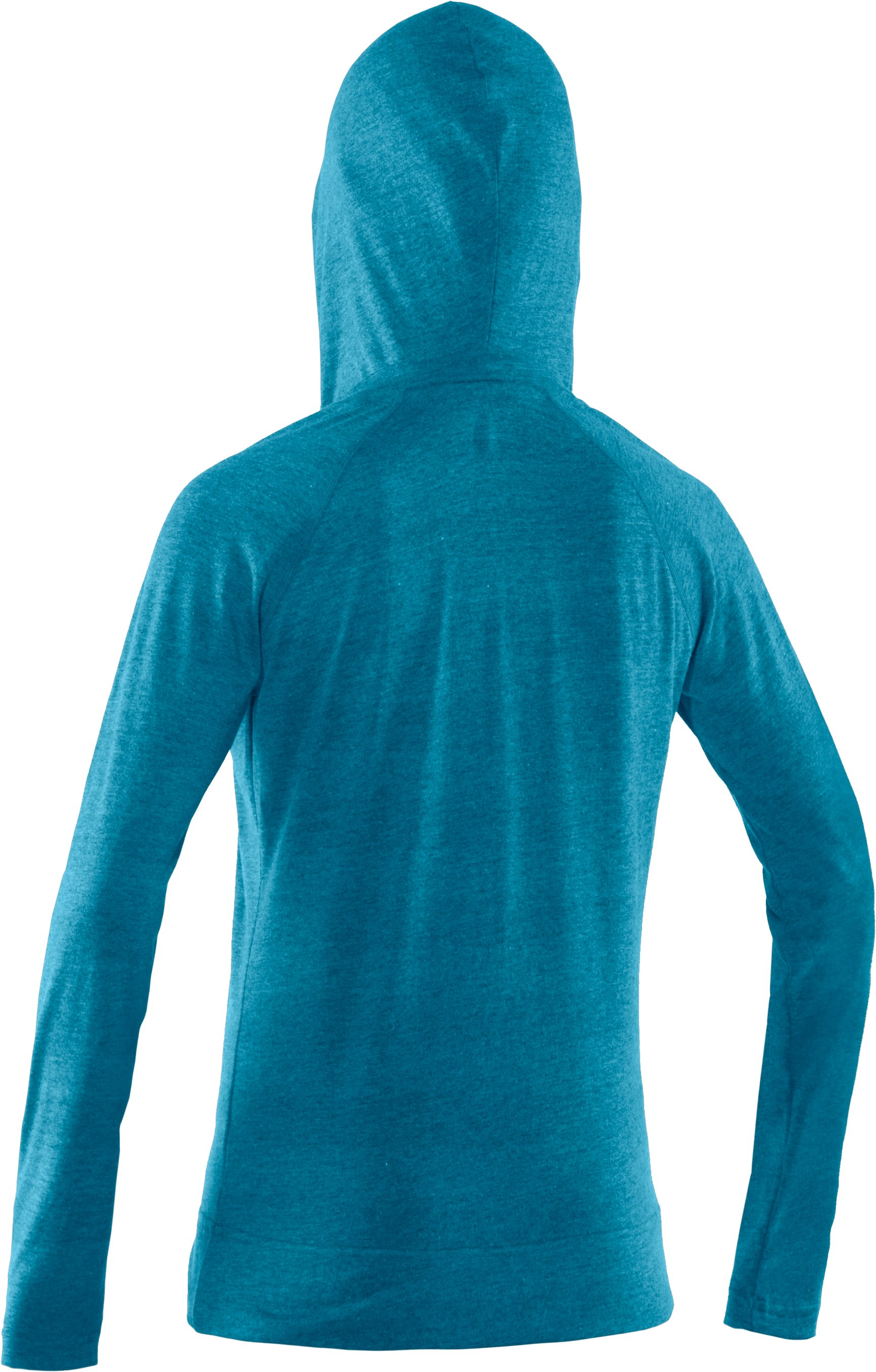 Women's UA Victory Hooded Long Sleeve, Break,