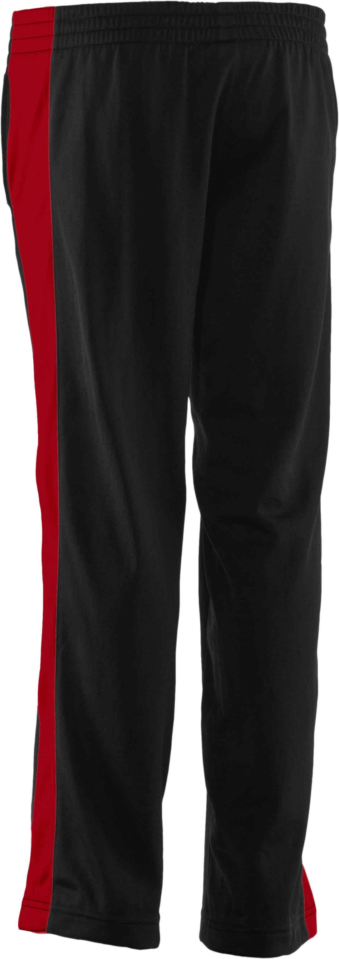 Boys' UA Brawler Knit Warm-Up Pants, Black