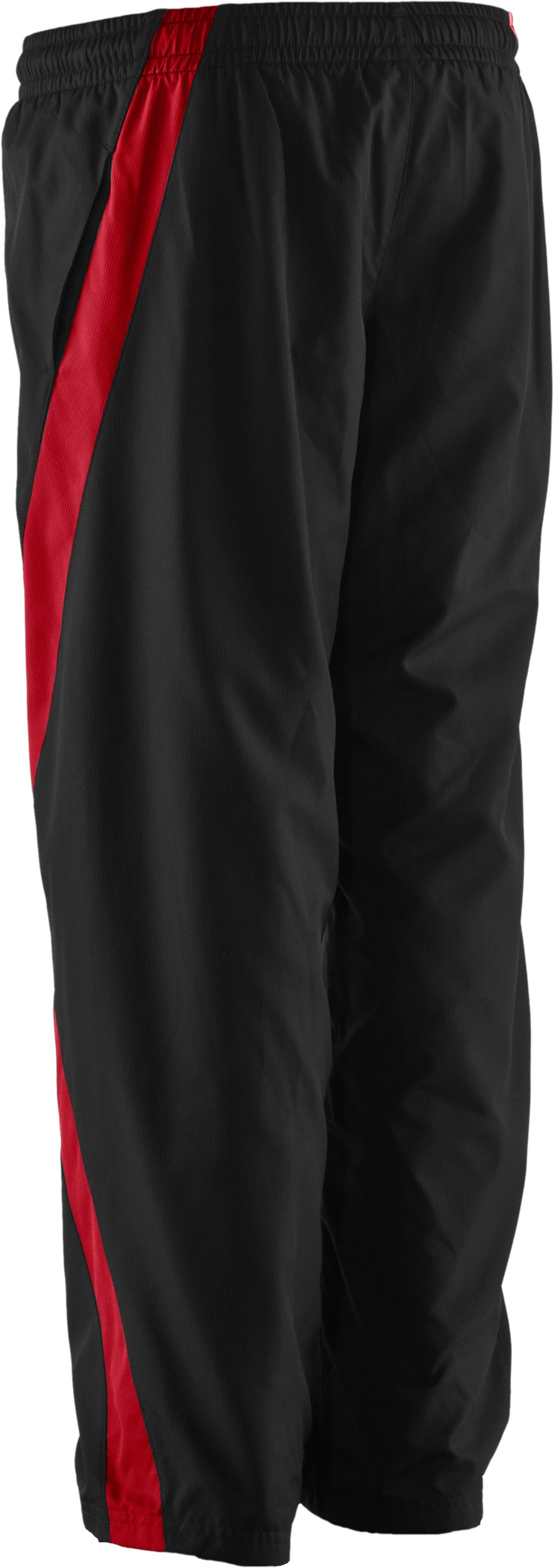 Boys' UA Turbulent Woven Pants, Black