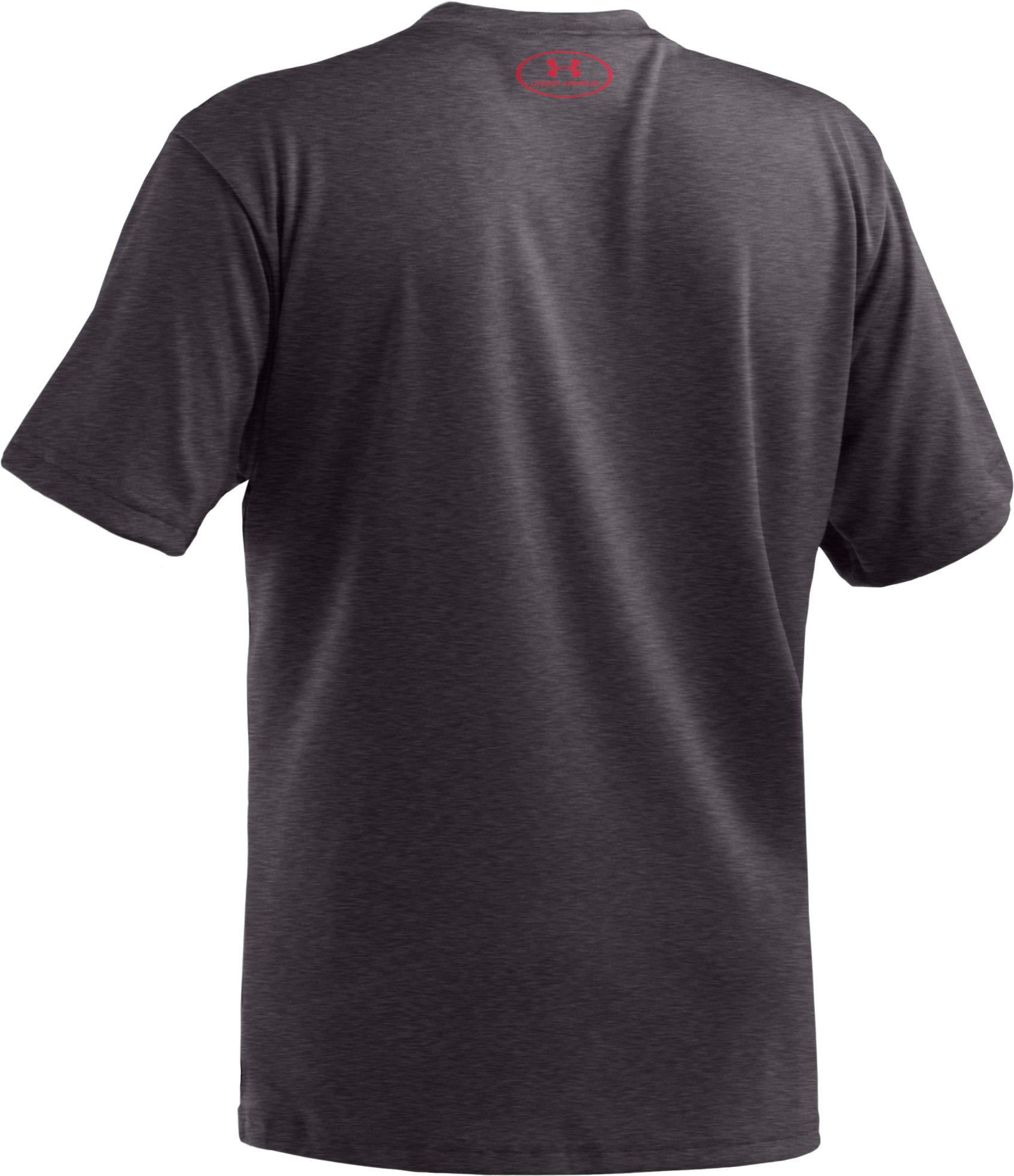 Boys' UA Armour Up™ T-Shirt, Carbon Heather, undefined