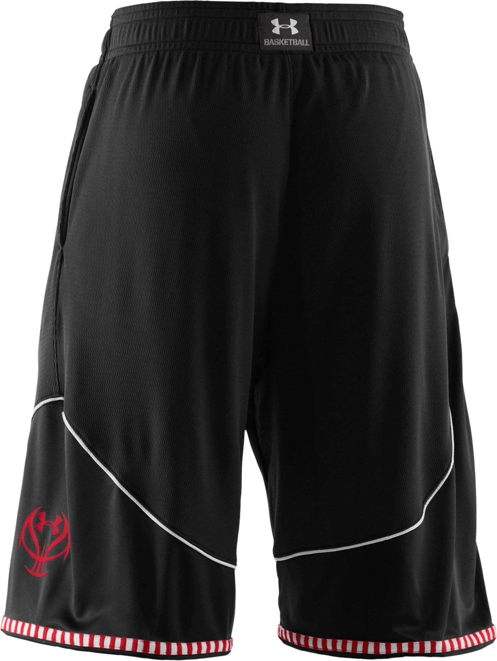 "Men's UA Rucker 12"" Basketball Shorts, Black"