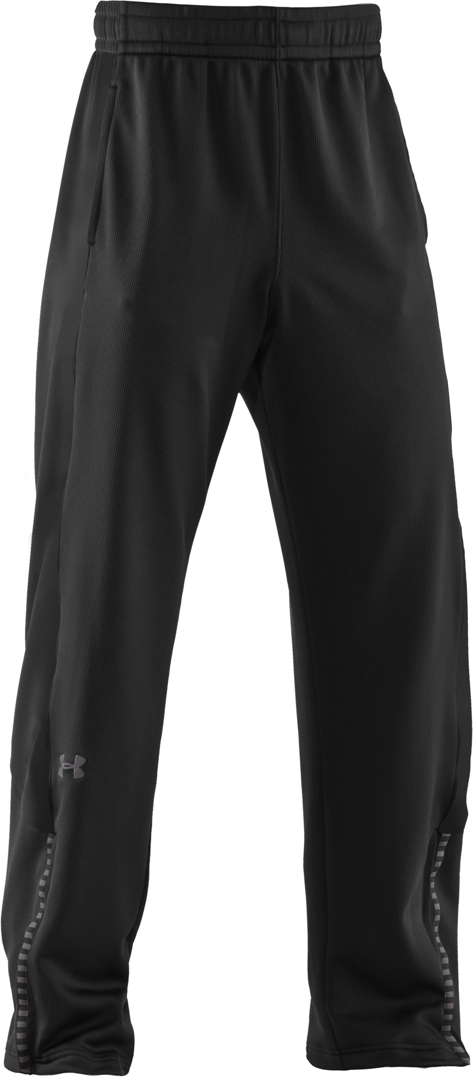 Men's UA Exceed Warm-Up Pants, Black , undefined