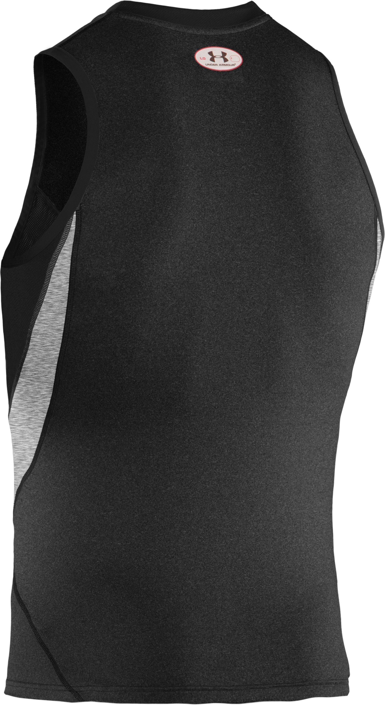 Men's UA Blur II Fitted Tank, Black