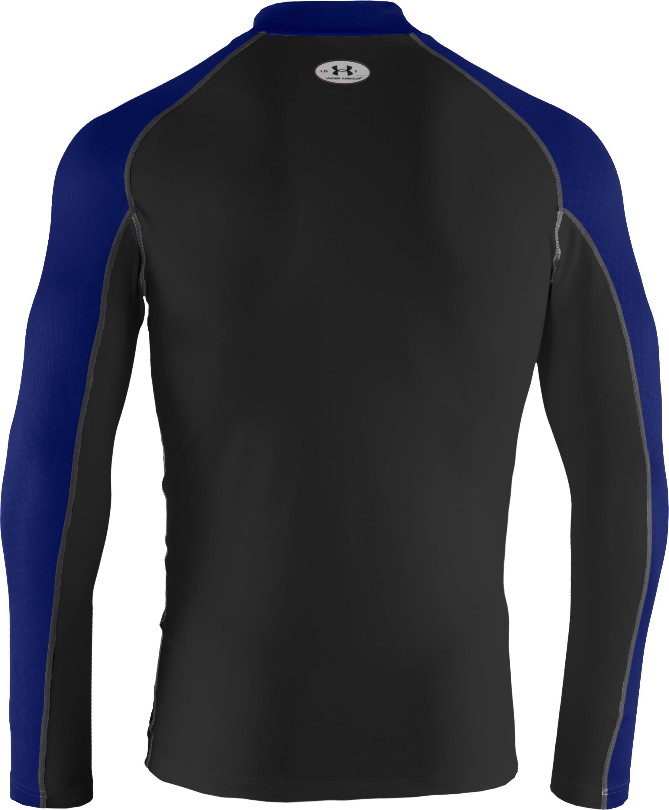 Men's UA Competition Fitted Baselayer Mock, Black , undefined