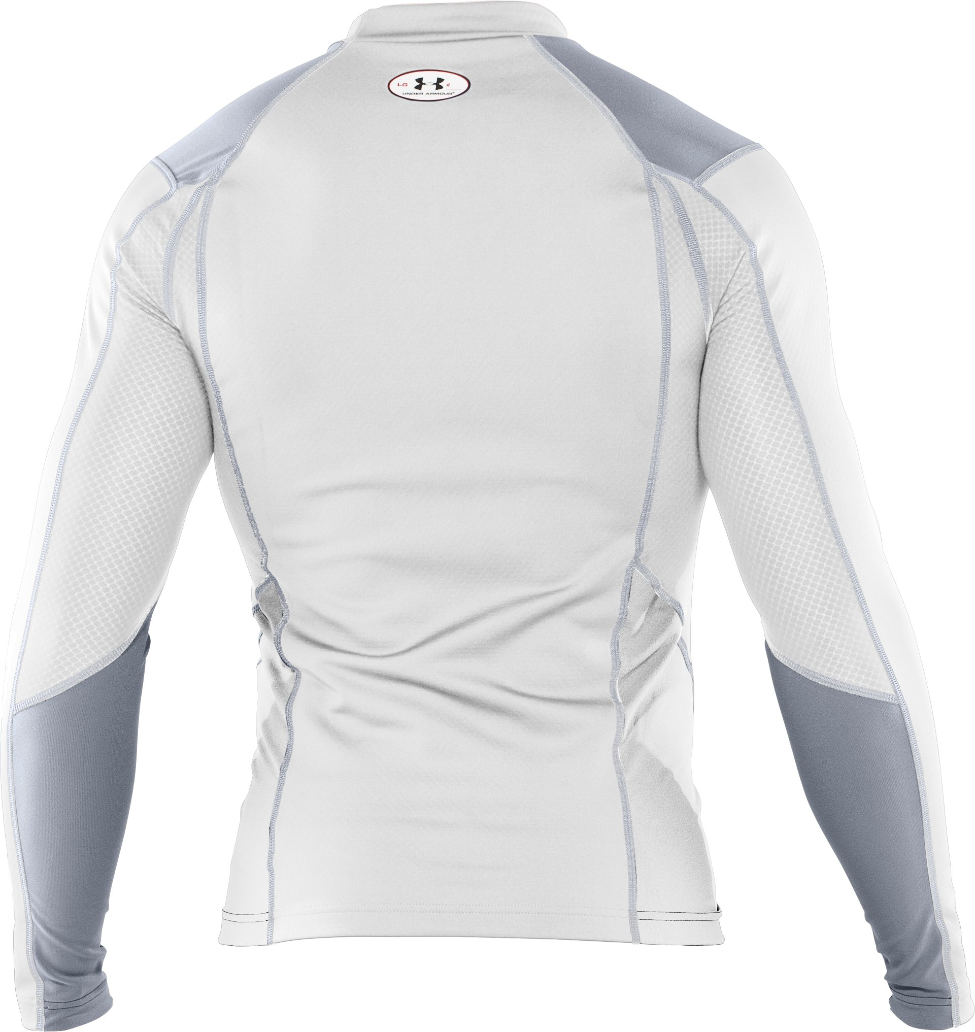 Men's ColdGear® Thermo Wind Block Long Sleeve, White