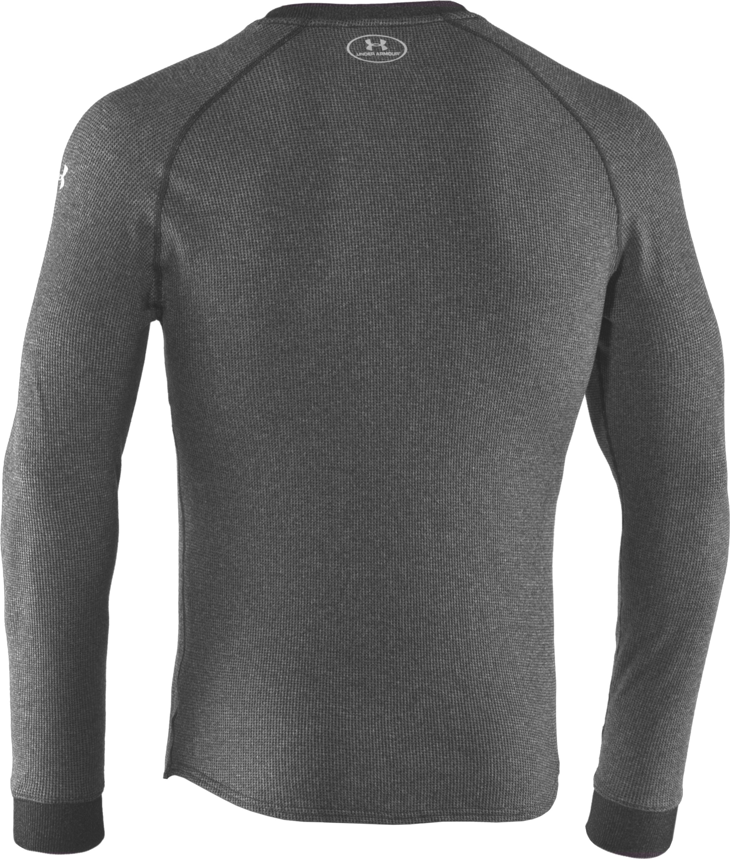 Men's UA Thermal 2.0 Crew Shirt, Carbon Heather, undefined