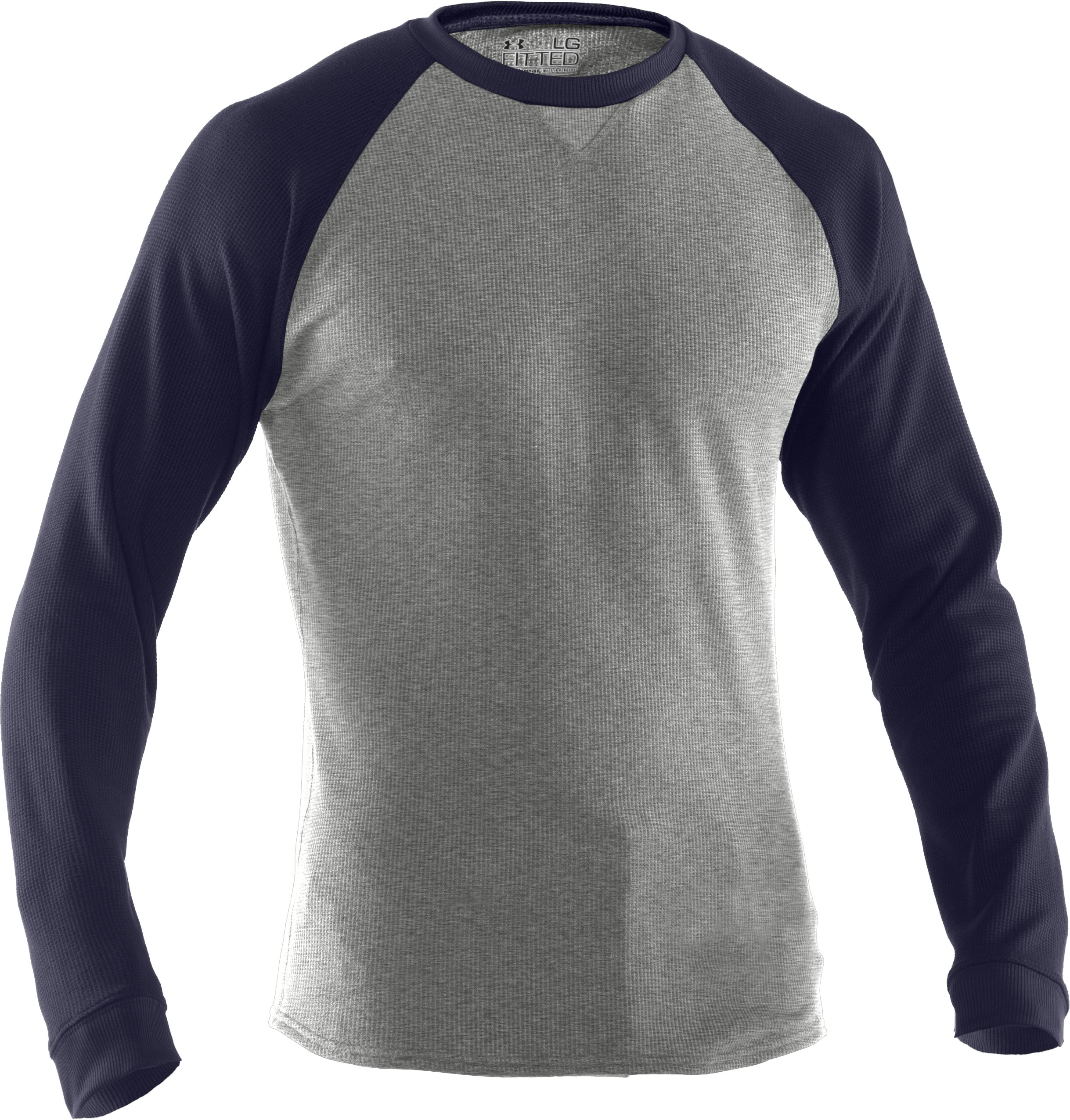Men's UA Thermal 2.0 Crew Shirt, Silver Heather