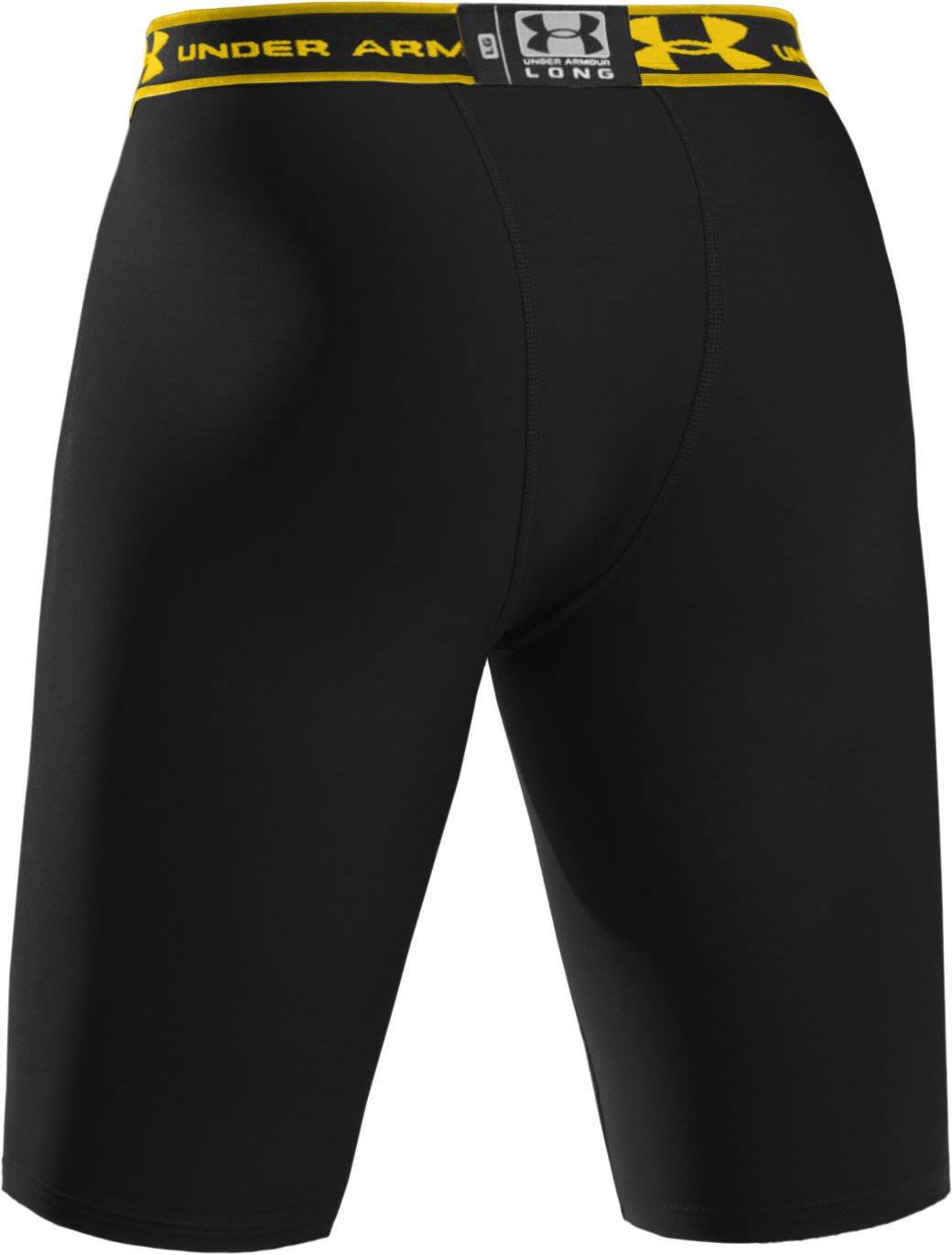 "Men's HeatGear® Compression 9"" Shorts, Black"