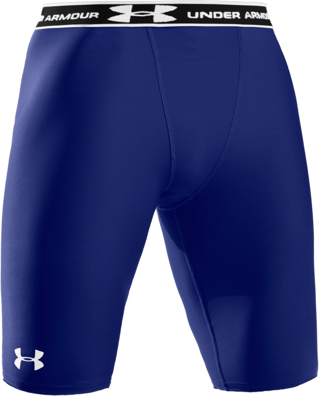 "Men's HeatGear® Compression 9"" Shorts, Royal"