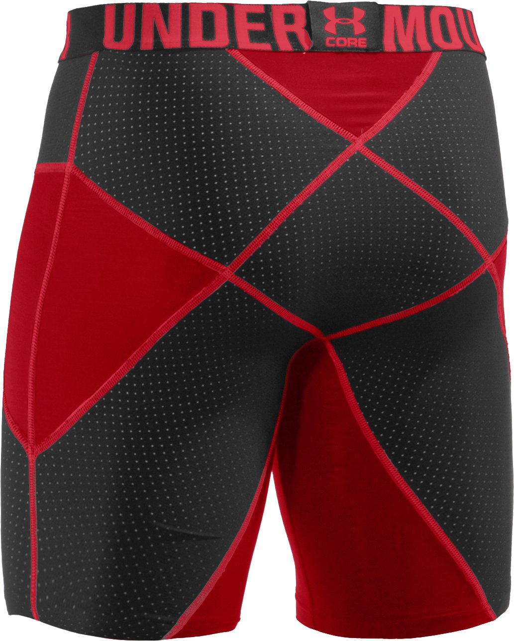 "Men's UA 9"" Coreshorts Prima, Red"