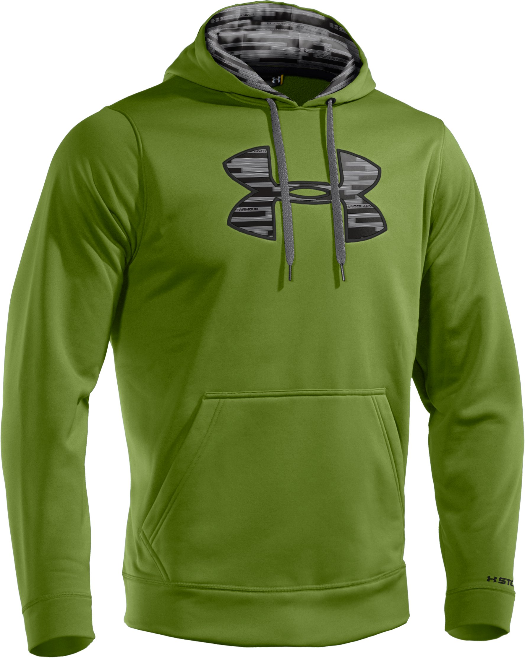 Men's Armour® Fleece Storm Big Logo Hoodie, Kildare