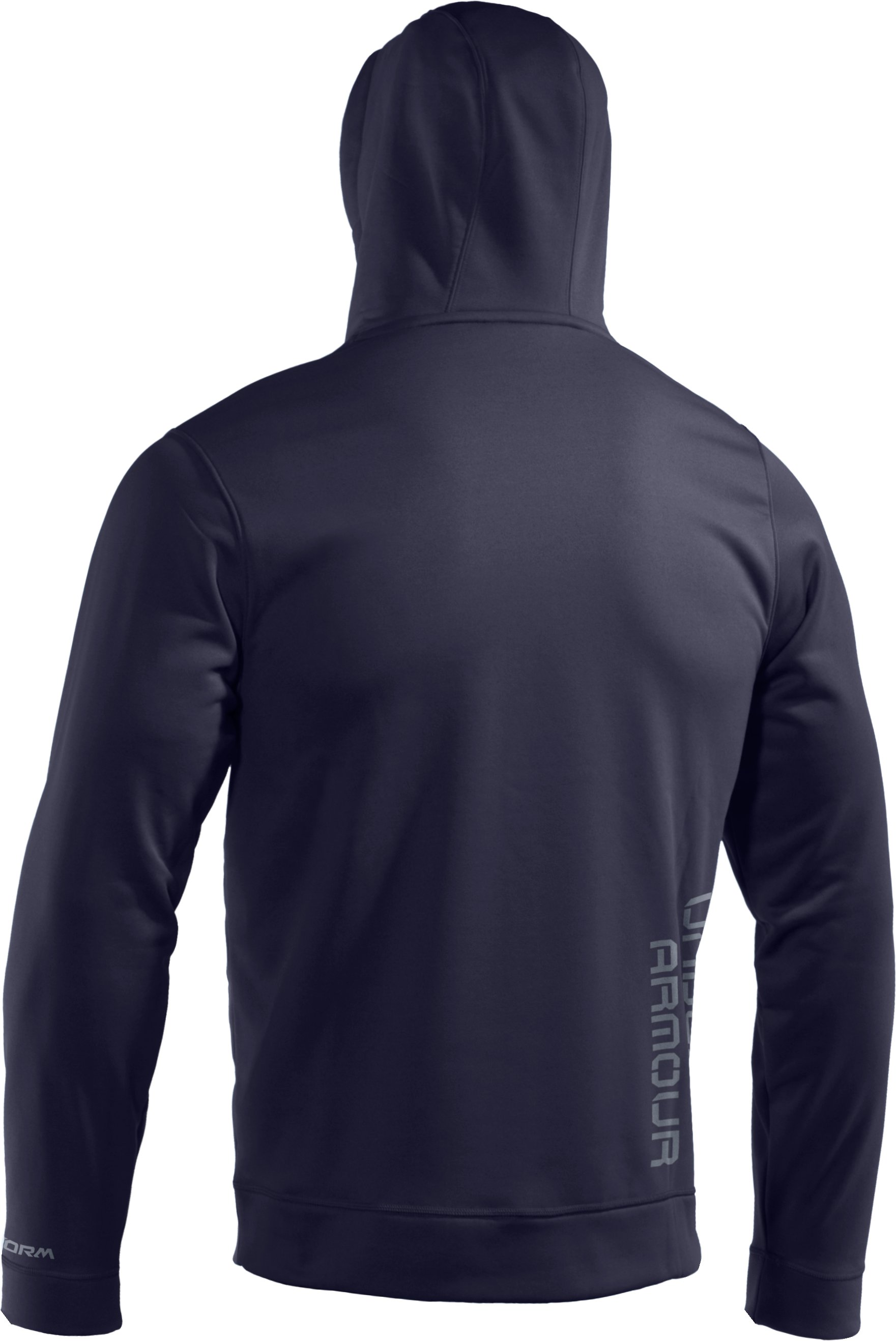 Men's Armour® Fleece Storm Big Logo Hoodie, Midnight Navy