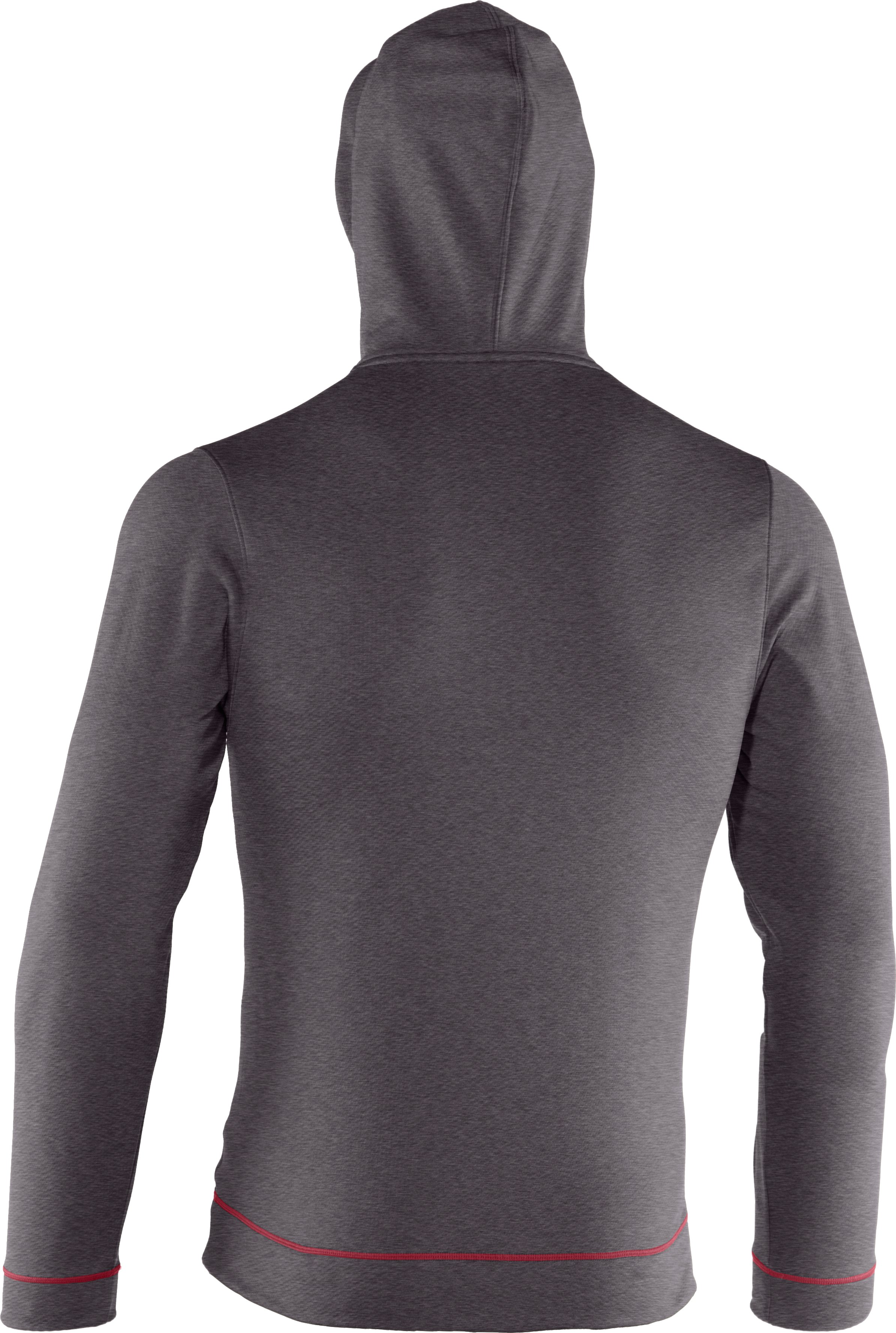 Men's UA Tech™ Fleece Pullover Hoodie, Carbon Heather