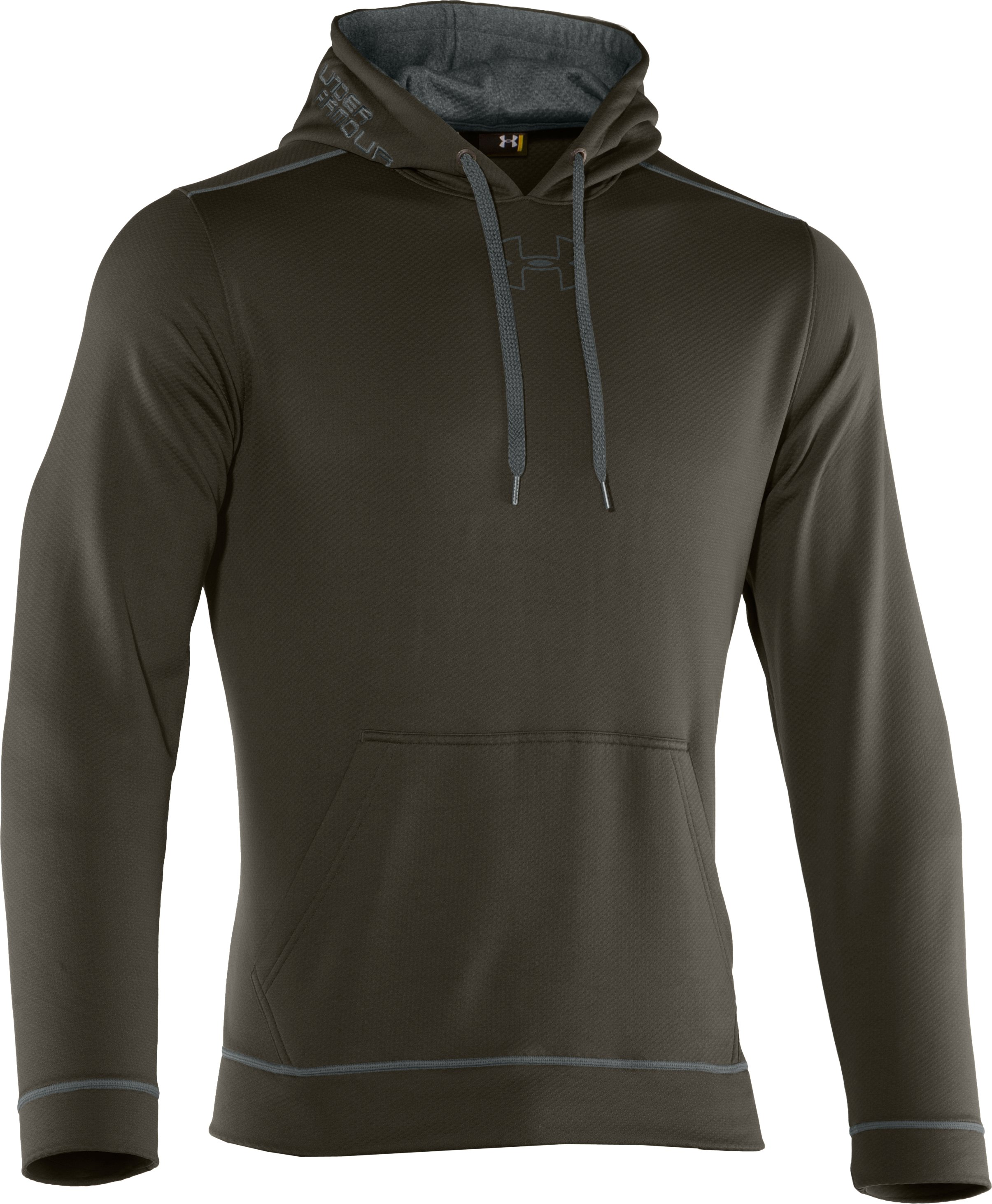 Men's UA Tech™ Fleece Pullover Hoodie, Rifle Green, undefined