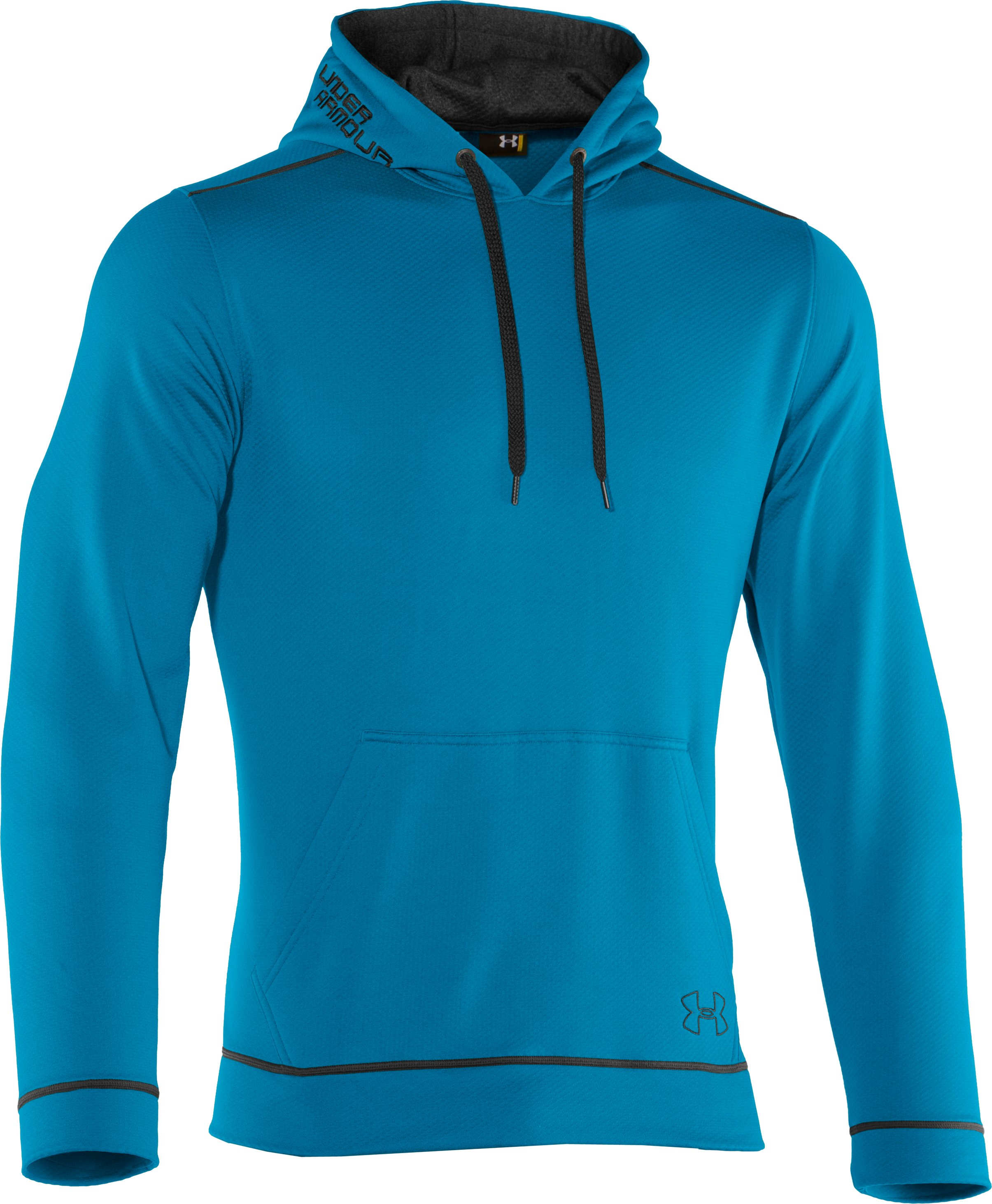 Men's UA Tech™ Fleece Pullover Hoodie, SNORKEL, undefined