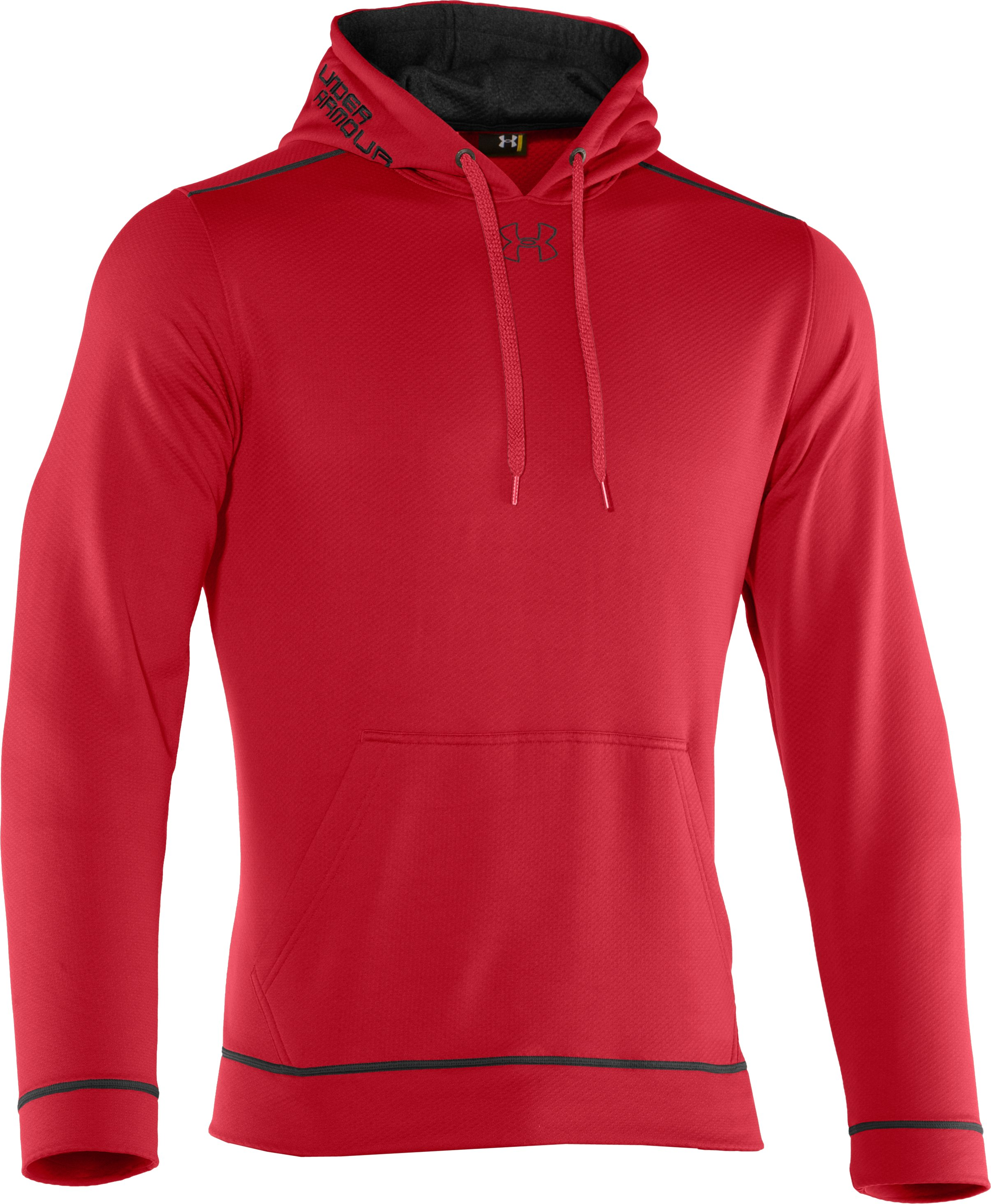 Men's UA Tech™ Fleece Pullover Hoodie, Red