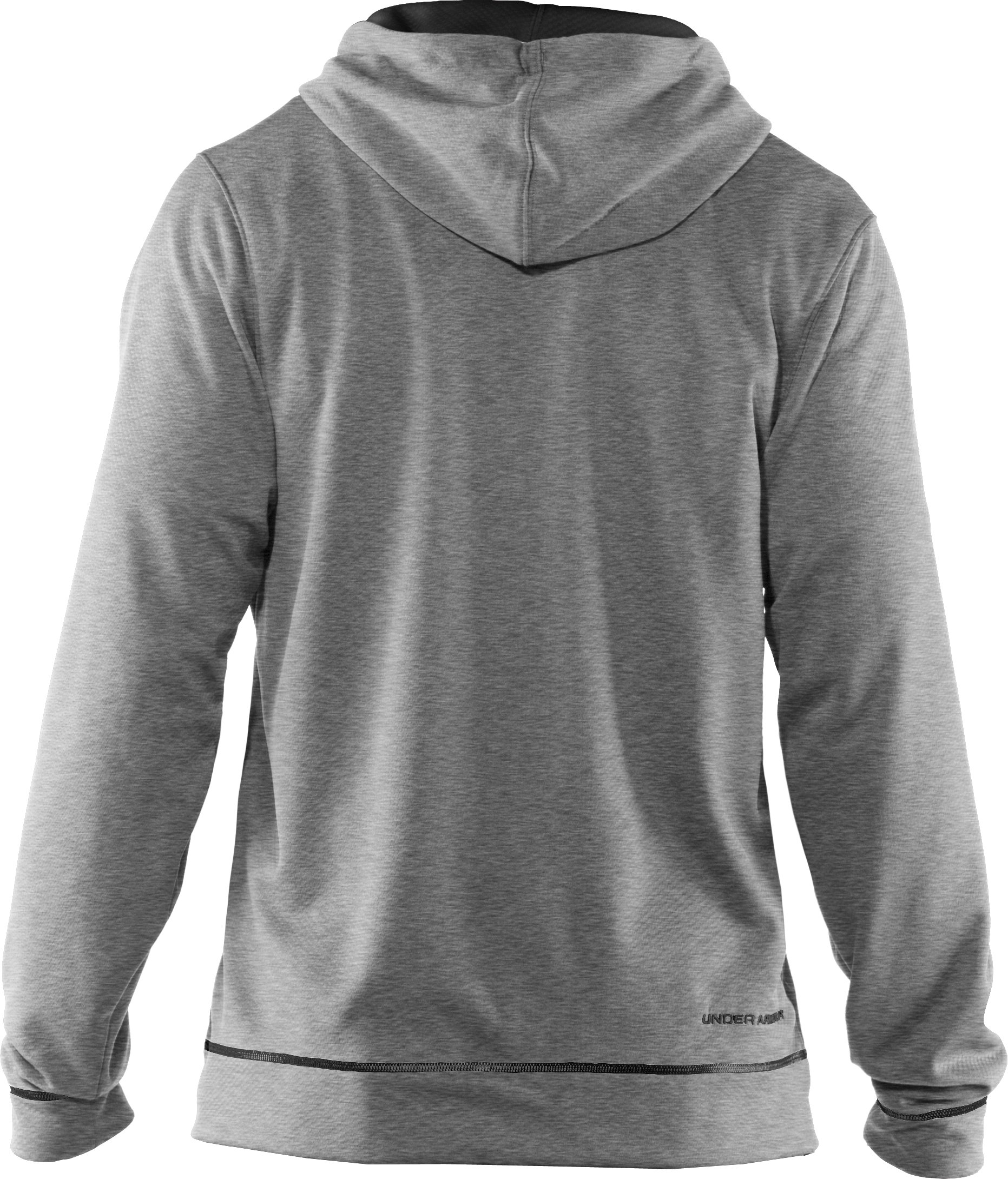 Men's UA Tech™ Fleece Full Zip Hoodie, True Gray Heather