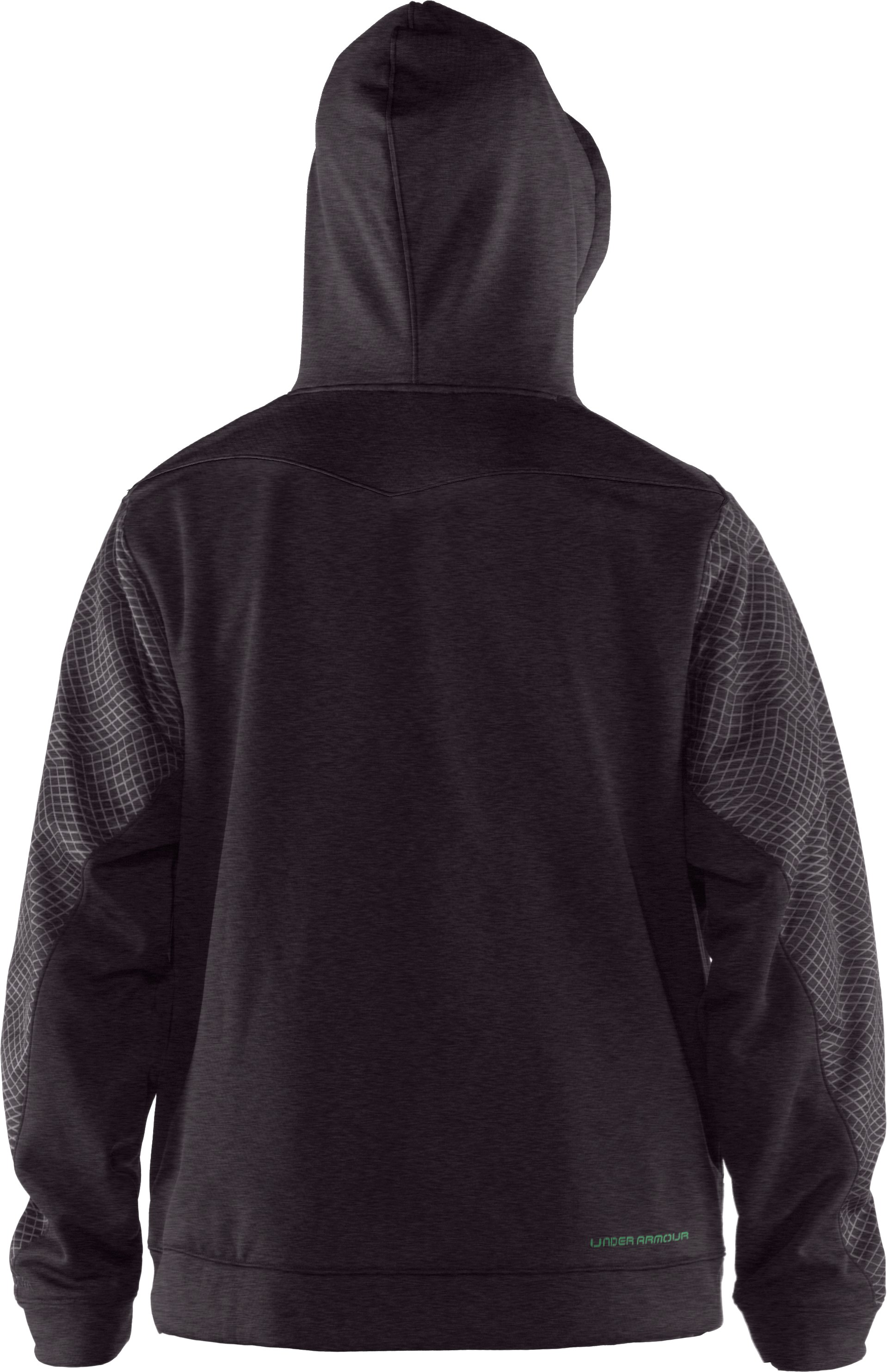 Men's UA Emilystic Pullover Hoodie, Carbon Heather,