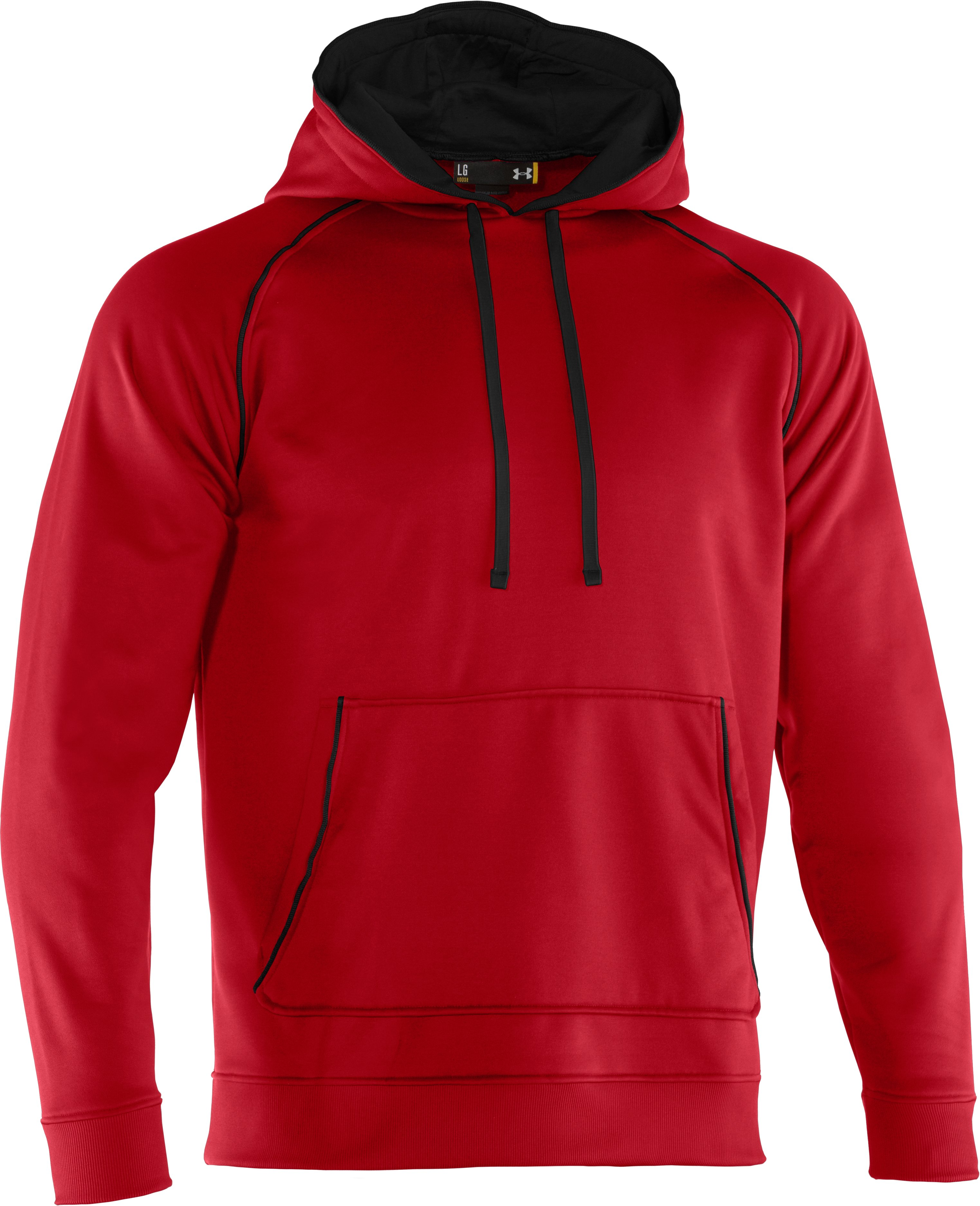 Men's Armour® Fleece Freshness Hoodie, Red