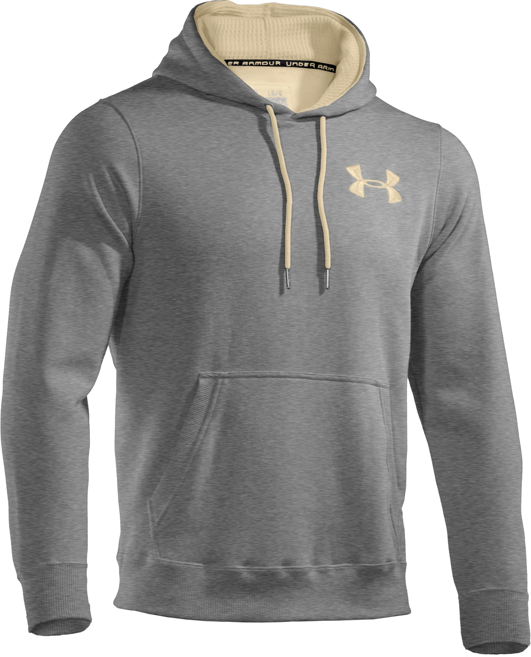 Men's Charged Cotton® Storm Pullover Hoodie, True Gray Heather,