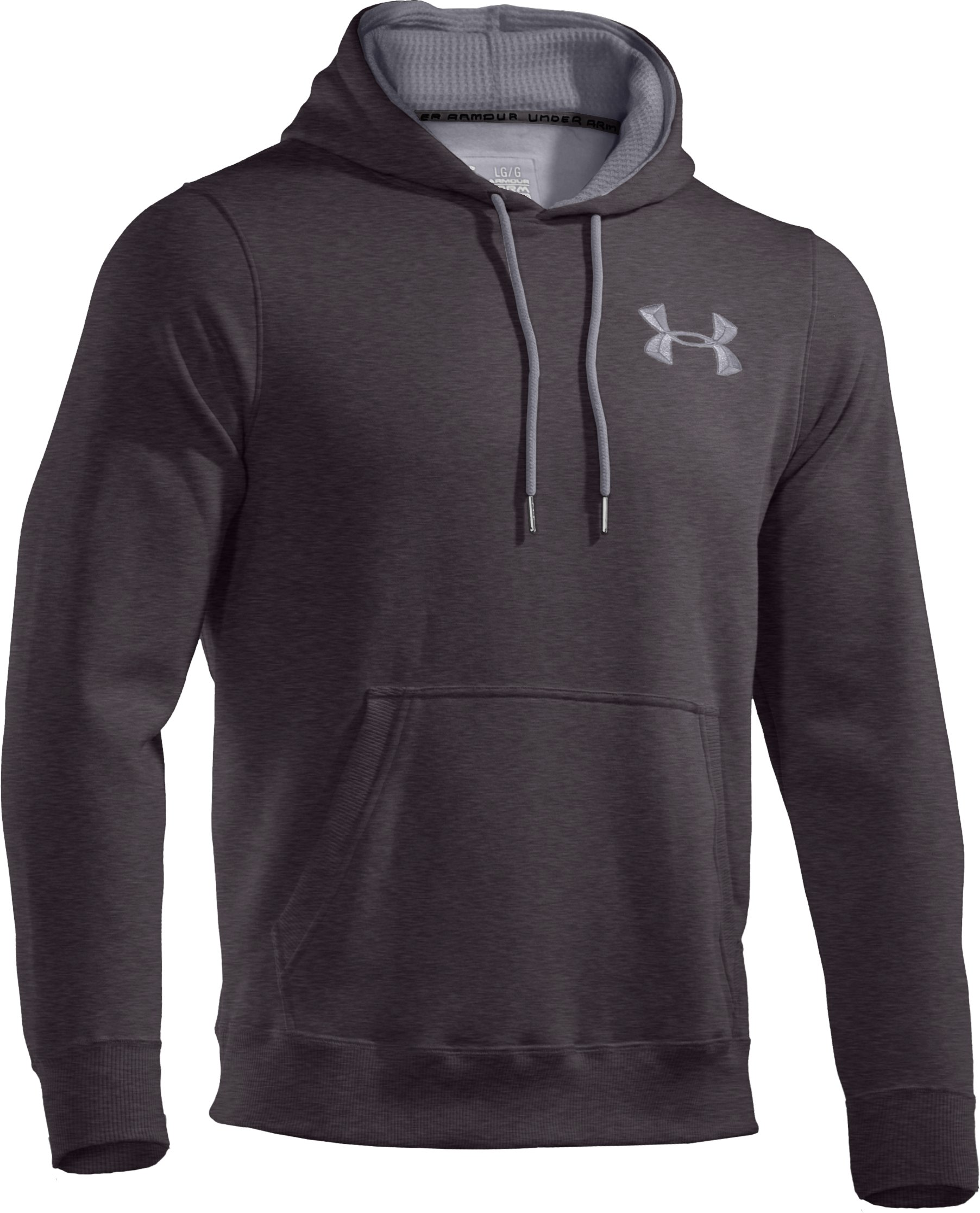 Men's Charged Cotton® Storm Pullover Hoodie, Carbon Heather, undefined