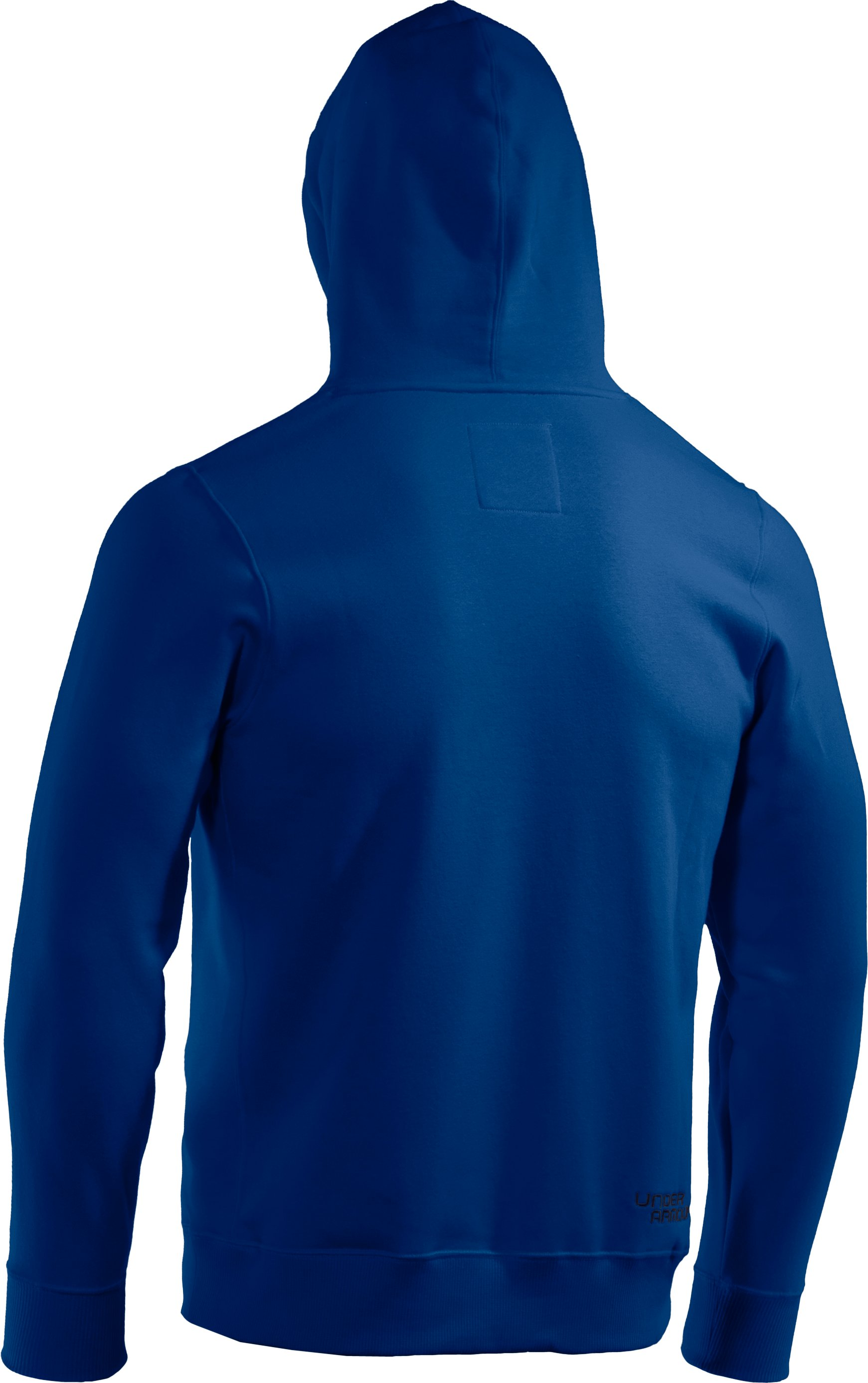 Men's Charged Cotton® Storm Pullover Hoodie, EMPIRE BLUE, undefined