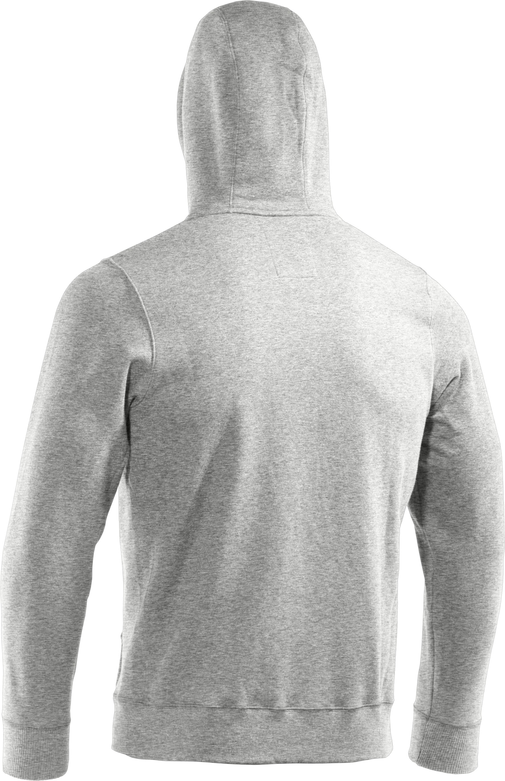 Men's Charged Cotton® Storm Full Zip Hoodie, Silver Heather, undefined