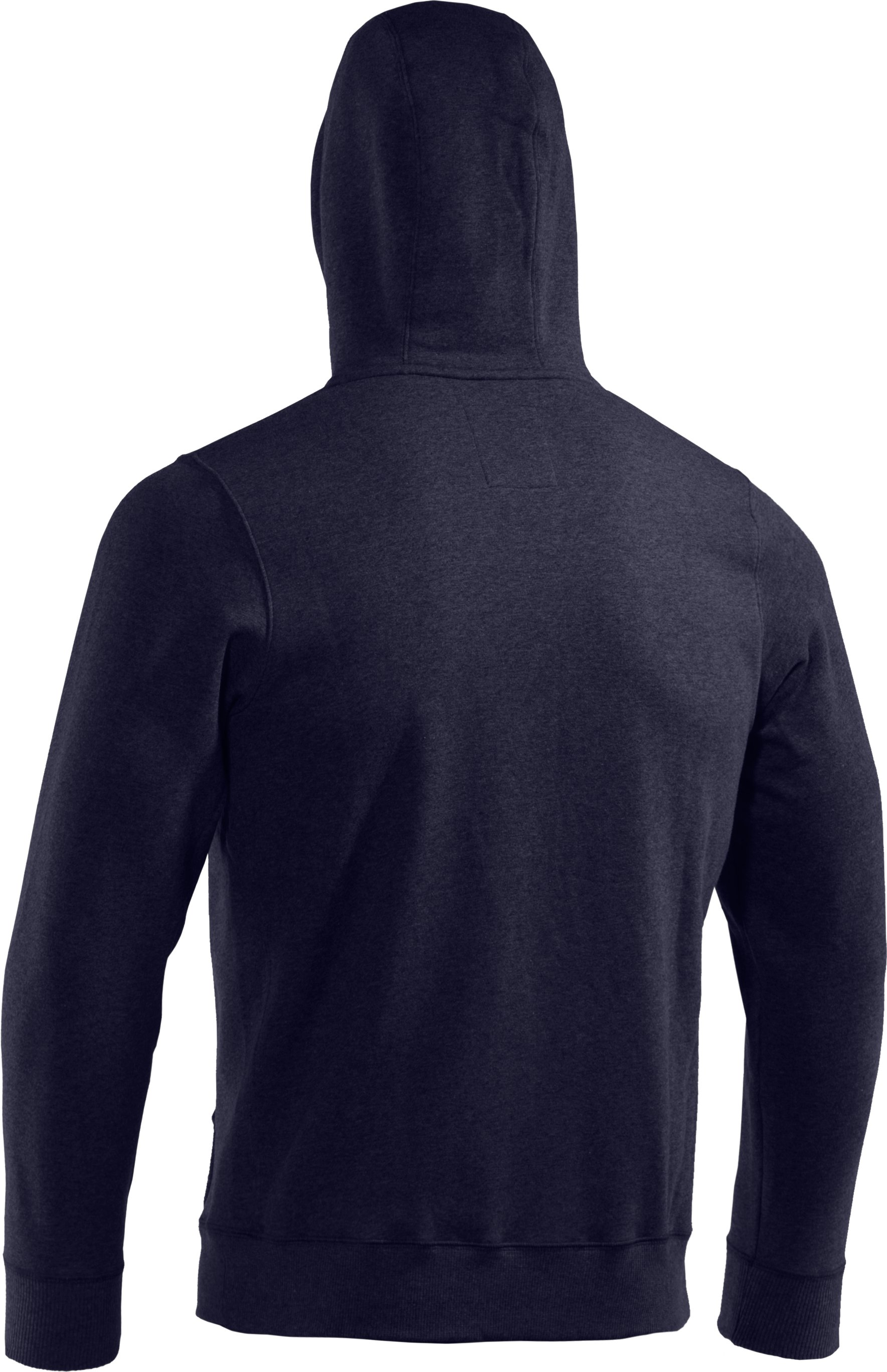 Men's Charged Cotton® Storm Full Zip Hoodie, Midnight Navy,