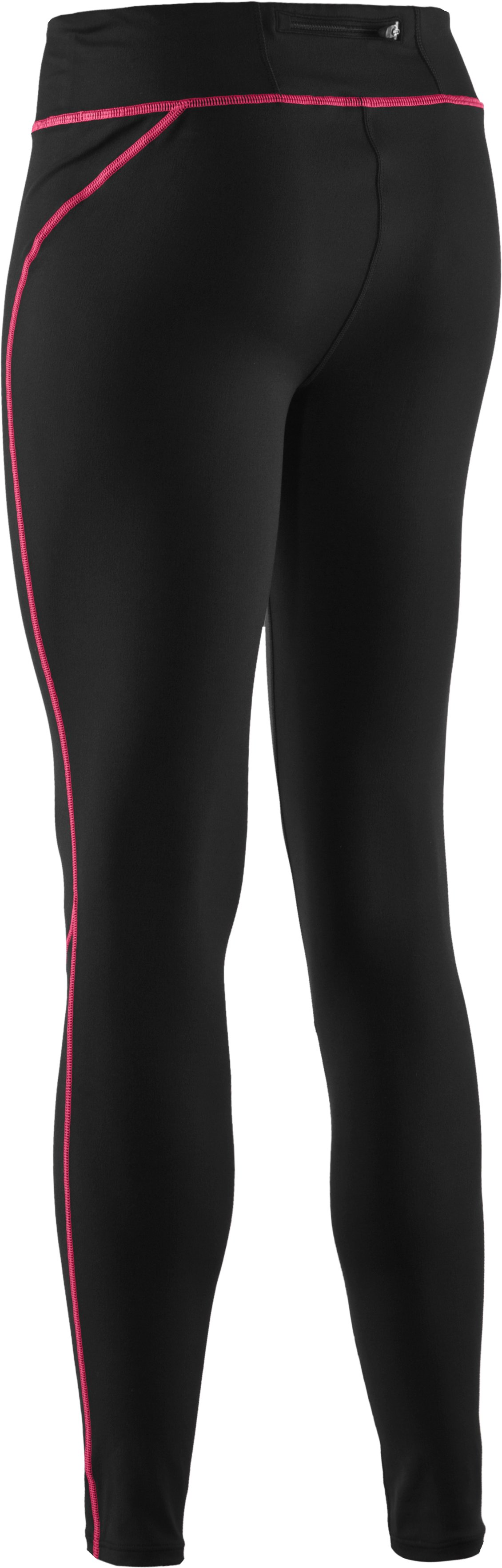 Women's AllSeasonGear® Run Fitted Tights, Black ,
