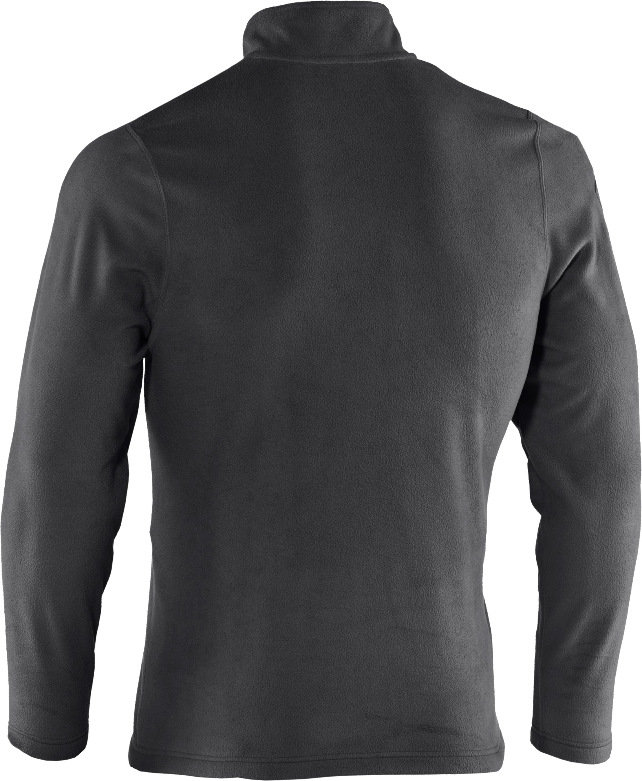 Men's UA Fever ¼ Zip Fleece, Graphite