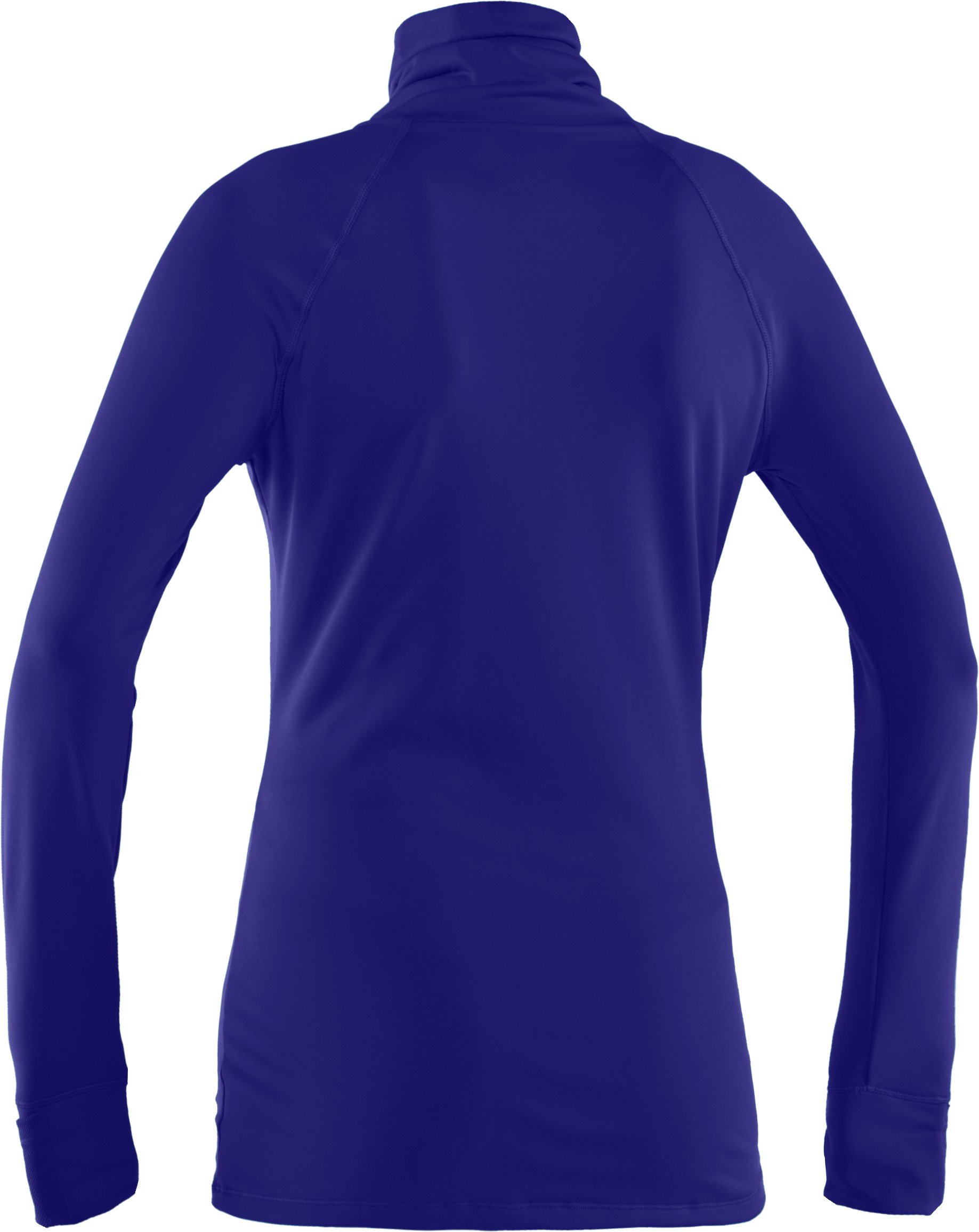 Women's UA Fly By Turtleneck, Caspian