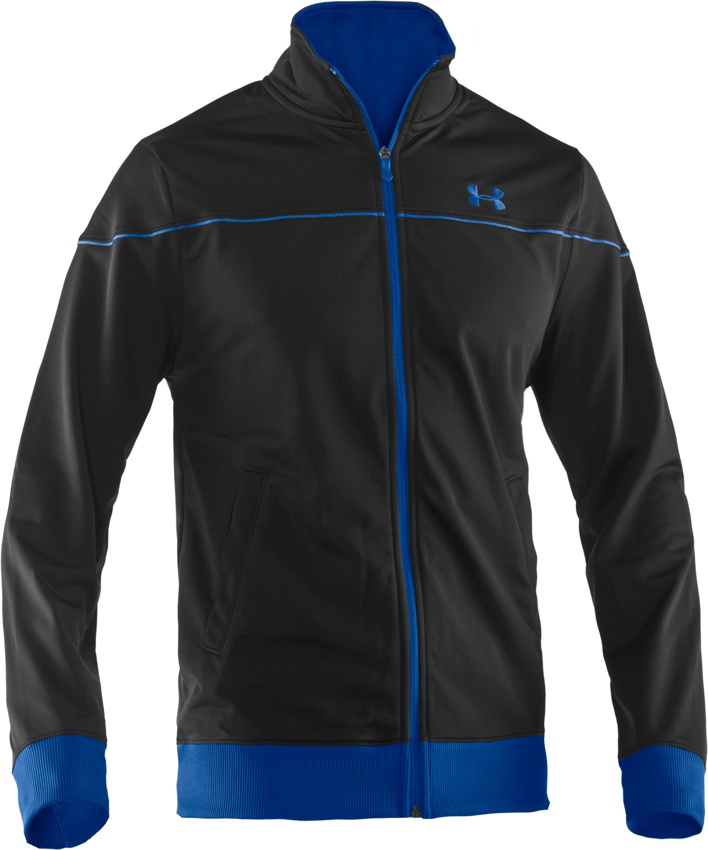 Men's UA Strength Track Jacket, Black