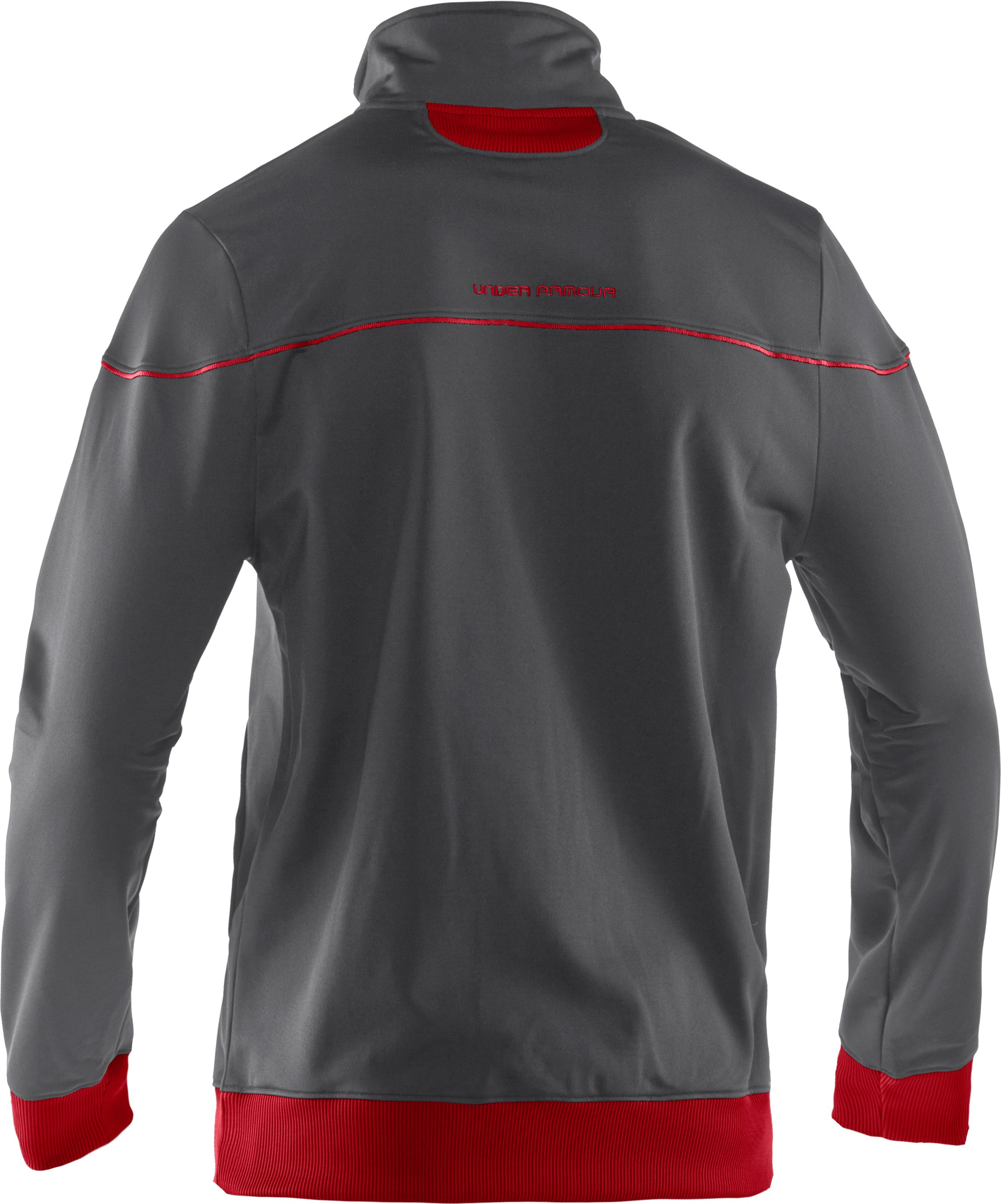 Men's UA Strength Track Jacket, Graphite