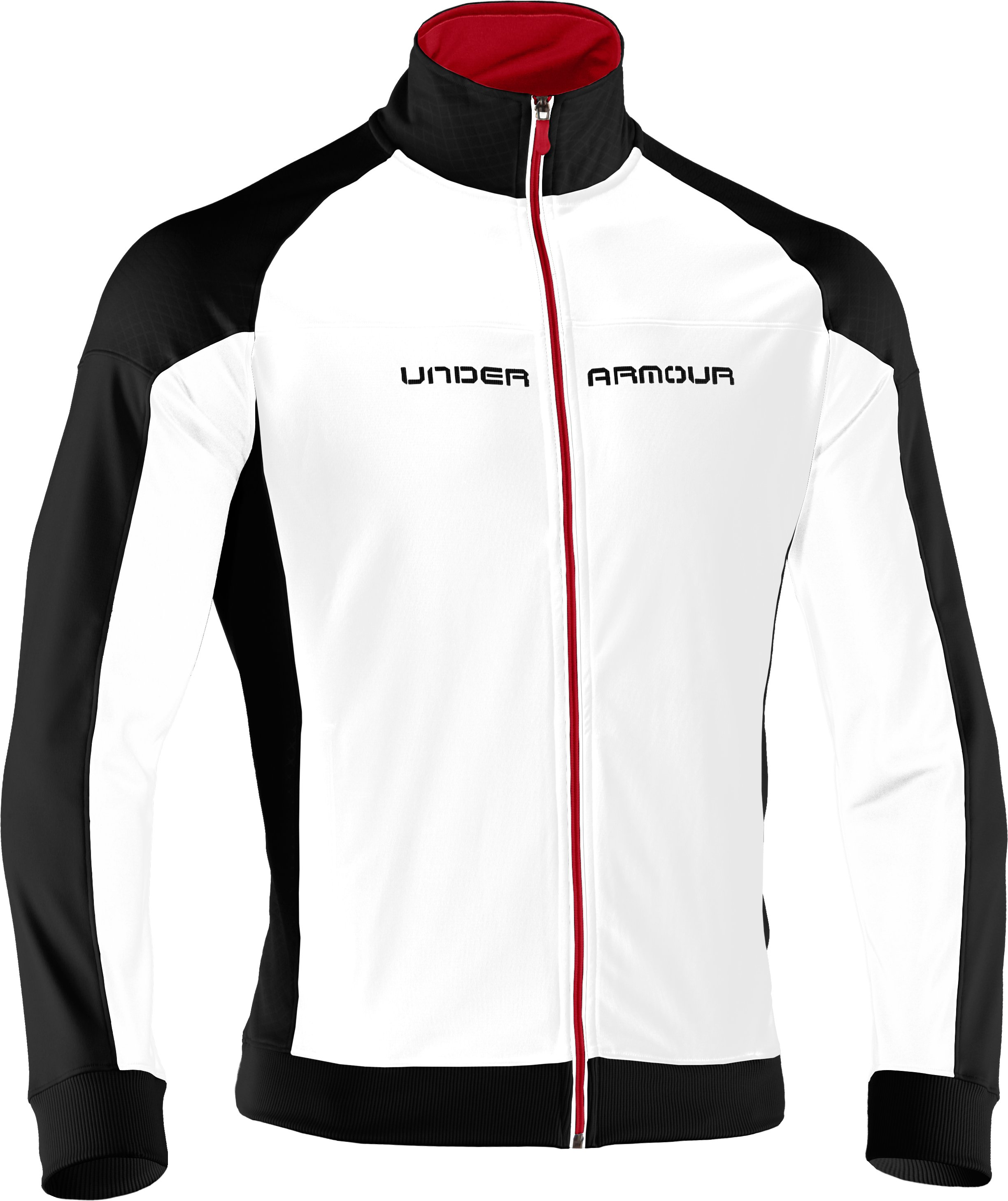 Men's UA Emilystic Track Jacket, White
