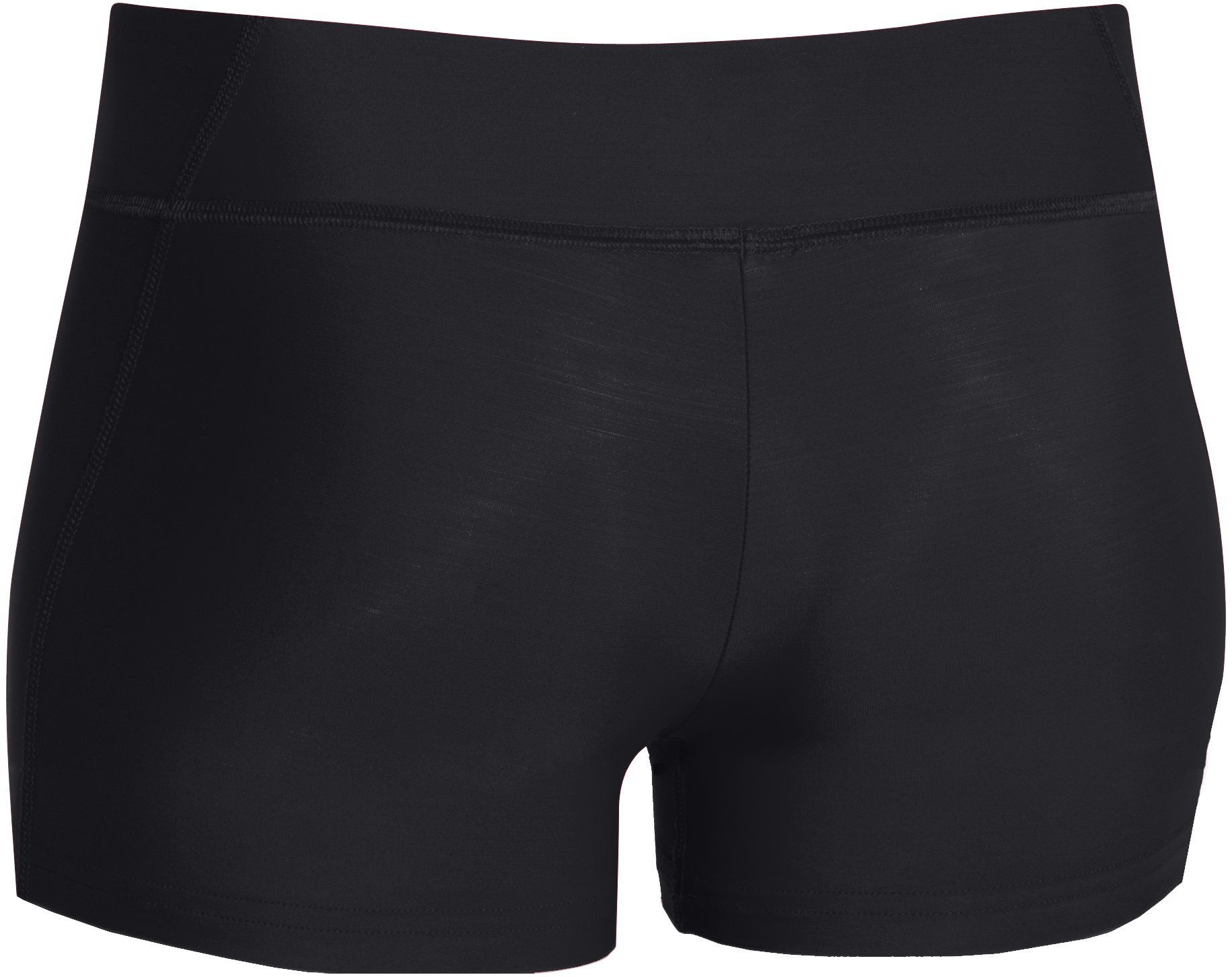 "Women's UA React 3"" Volleyball Shorts, Black , undefined"