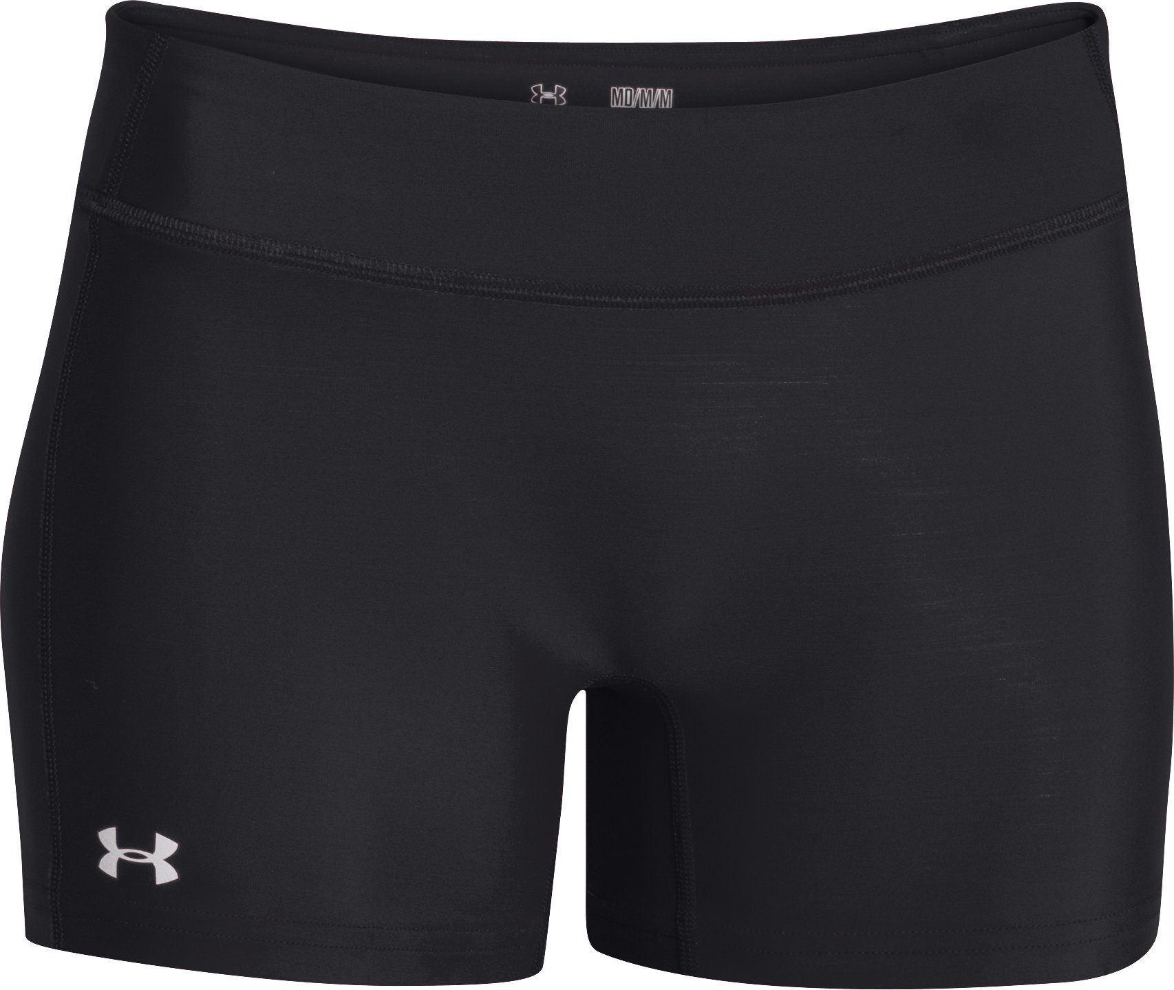 "Women's UA React 4"" Volleyball Shorts, Black ,"
