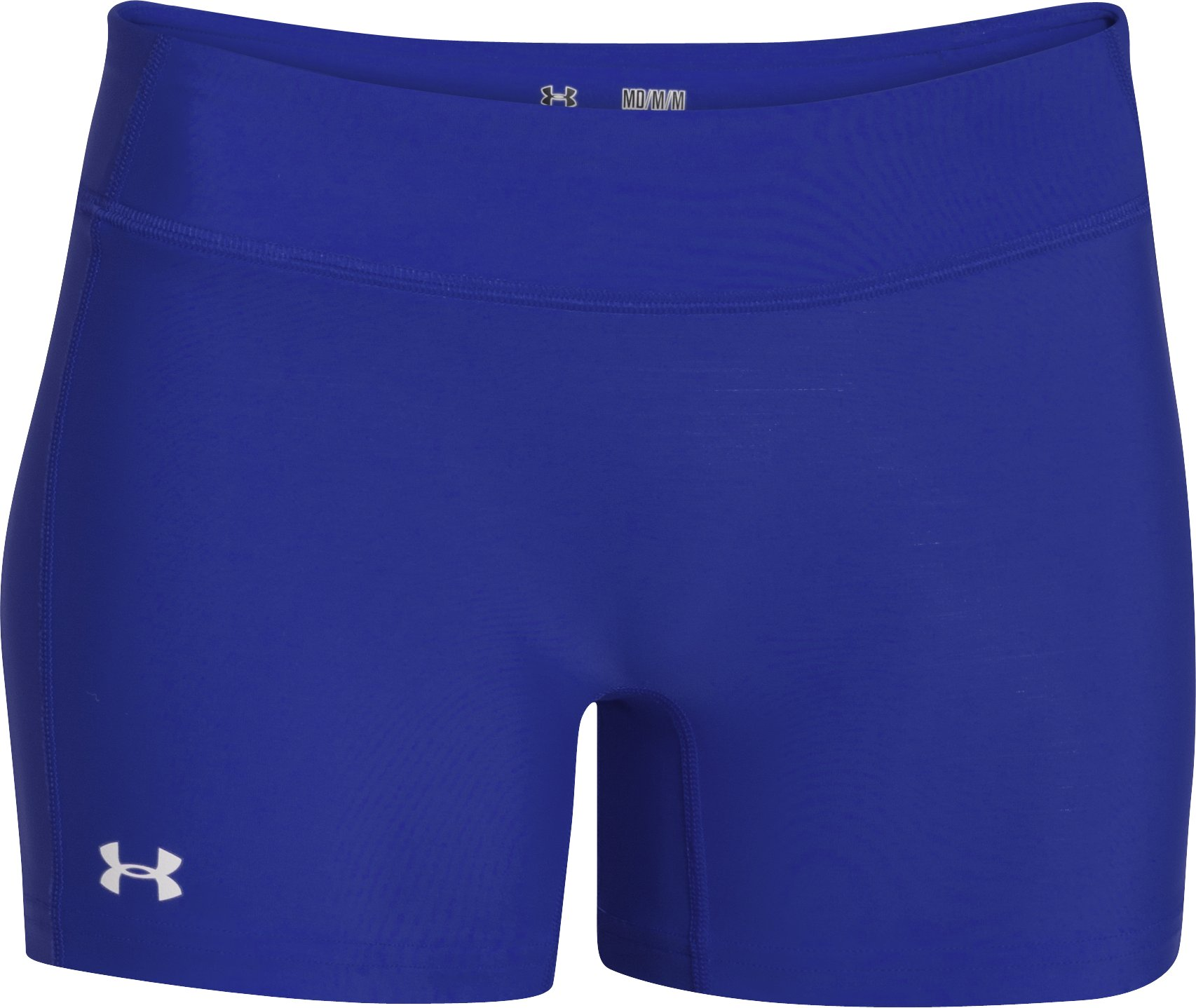 "Women's UA React 4"" Volleyball Shorts, Royal,"