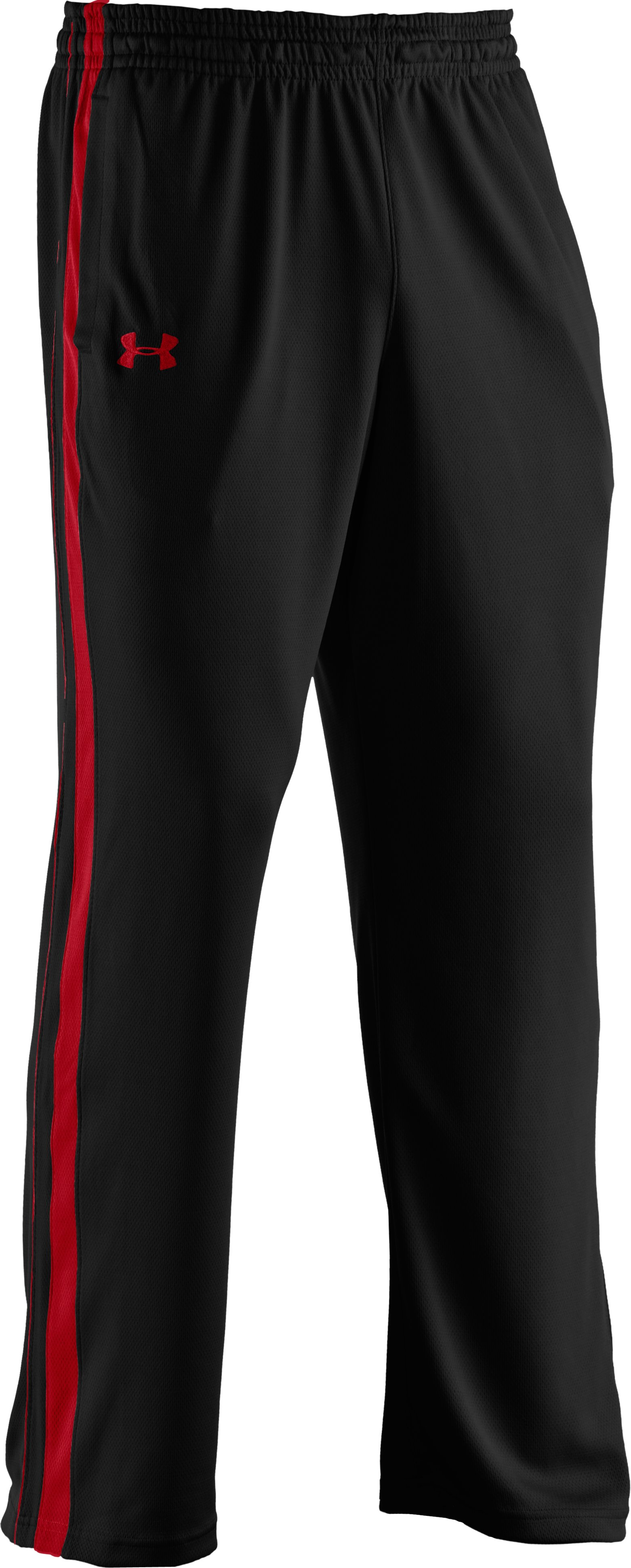 Men's UA Flex Colorblock Pants, Black