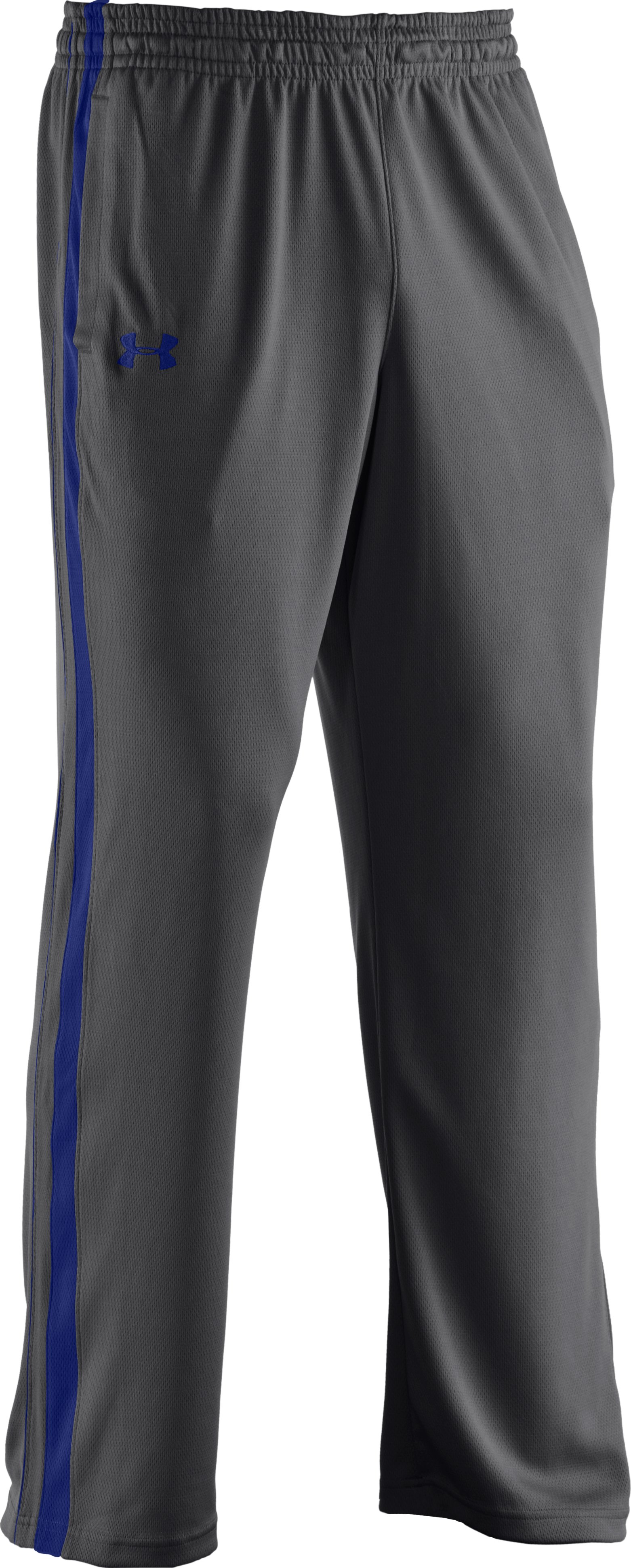 Men's UA Flex Colorblock Pants, Graphite