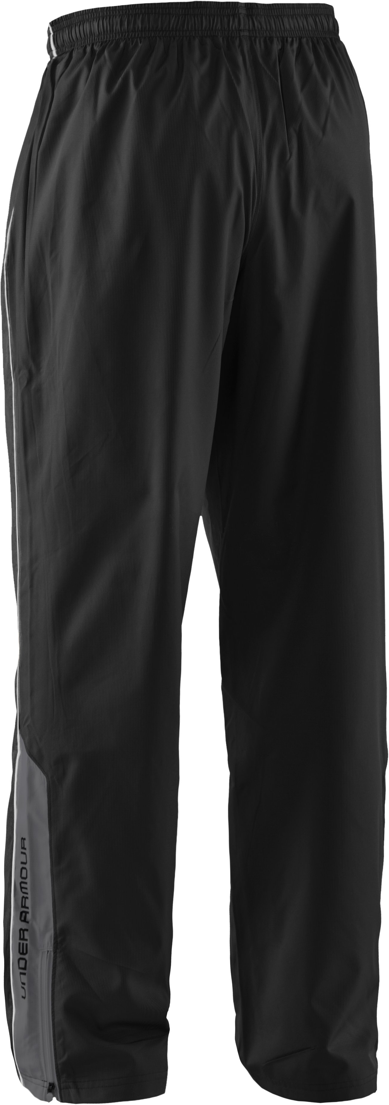 Men's UA Bandito Woven Warm-Up Pants, Black ,
