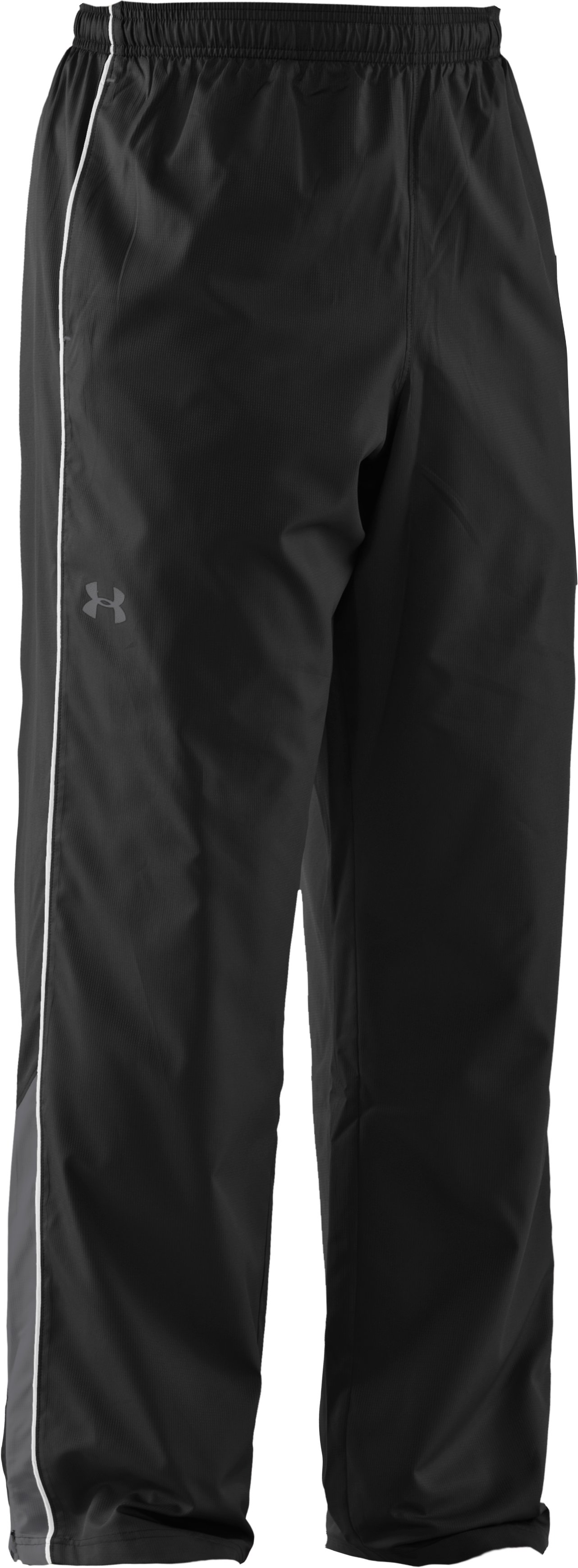 Men's UA Bandito Woven Warm-Up Pants, Black