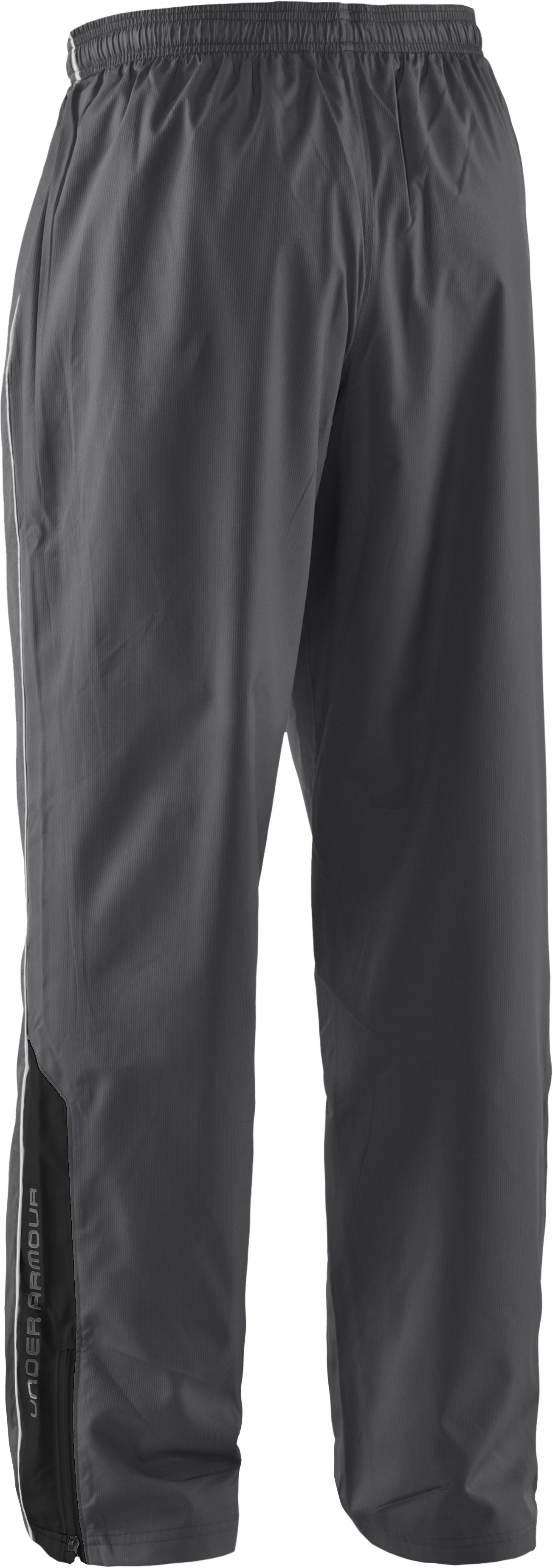 Men's UA Bandito Woven Warm-Up Pants, Graphite, undefined