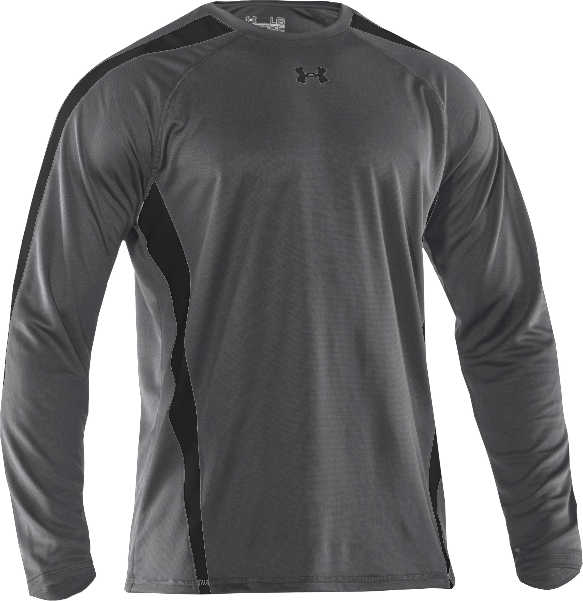 Men's UA Zone IV Long Sleeve T-Shirt, Graphite,
