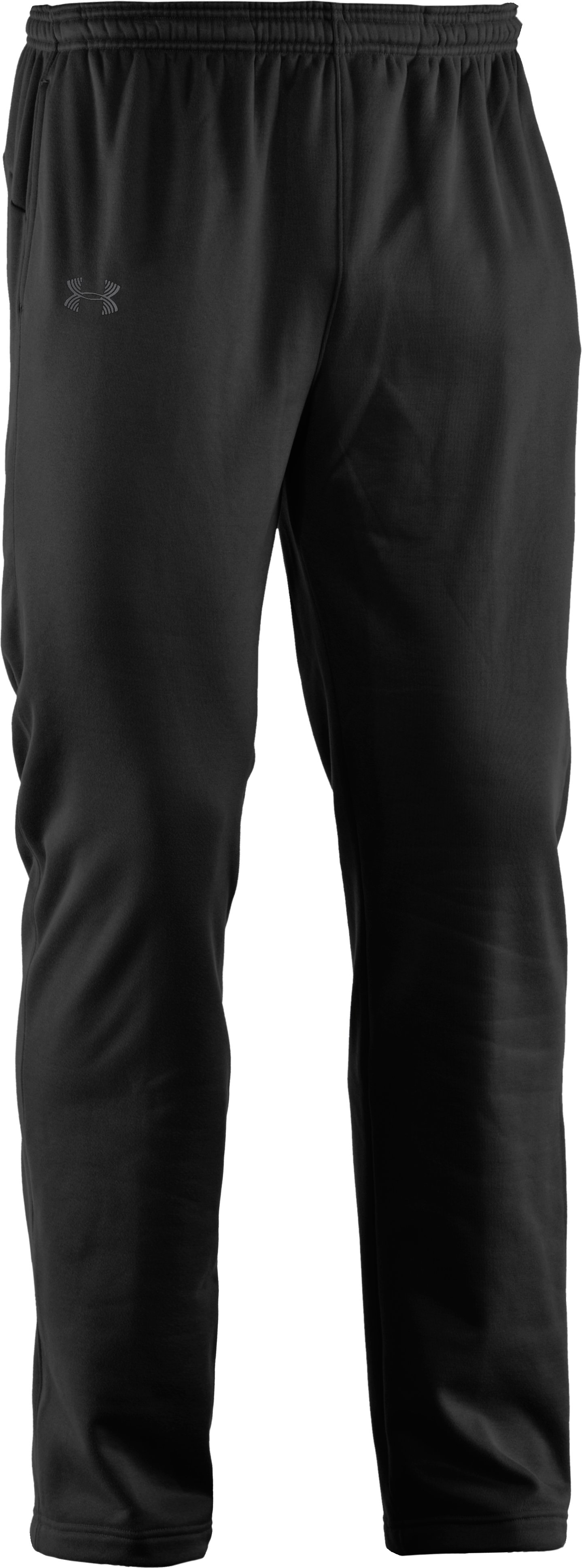 Men's UA Catalyst Fleece Pants, Black