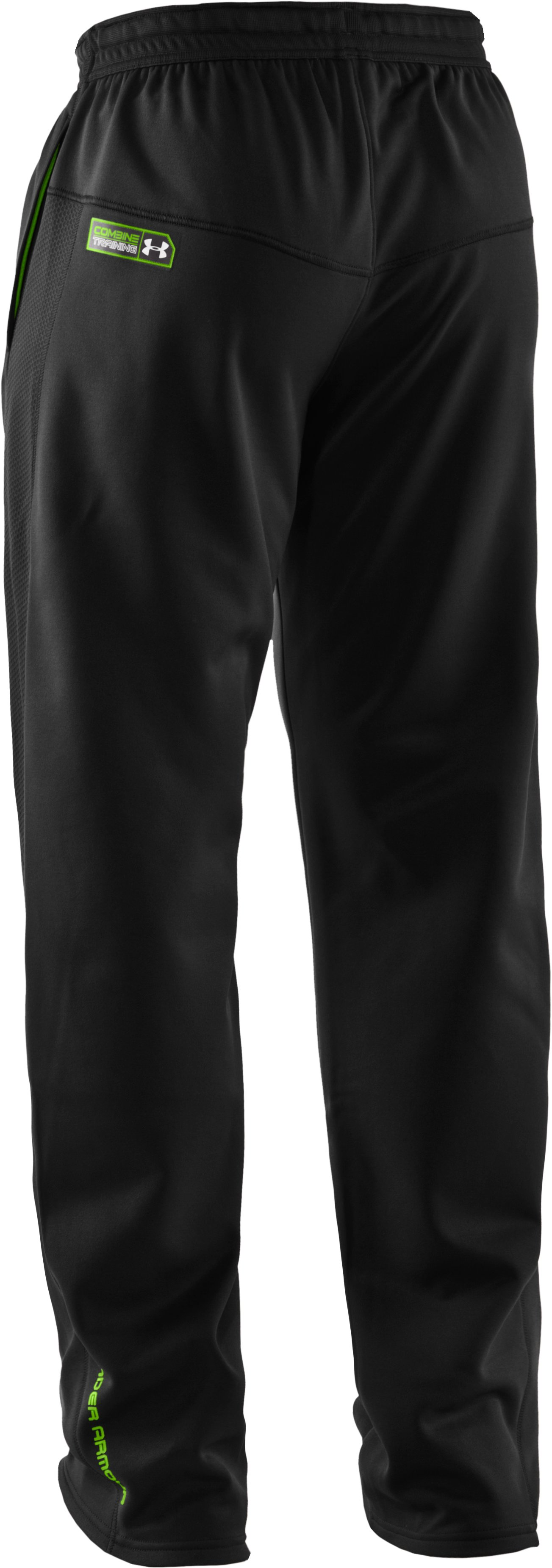 Men's UA Combine® Training Fleece Pants, Black , undefined