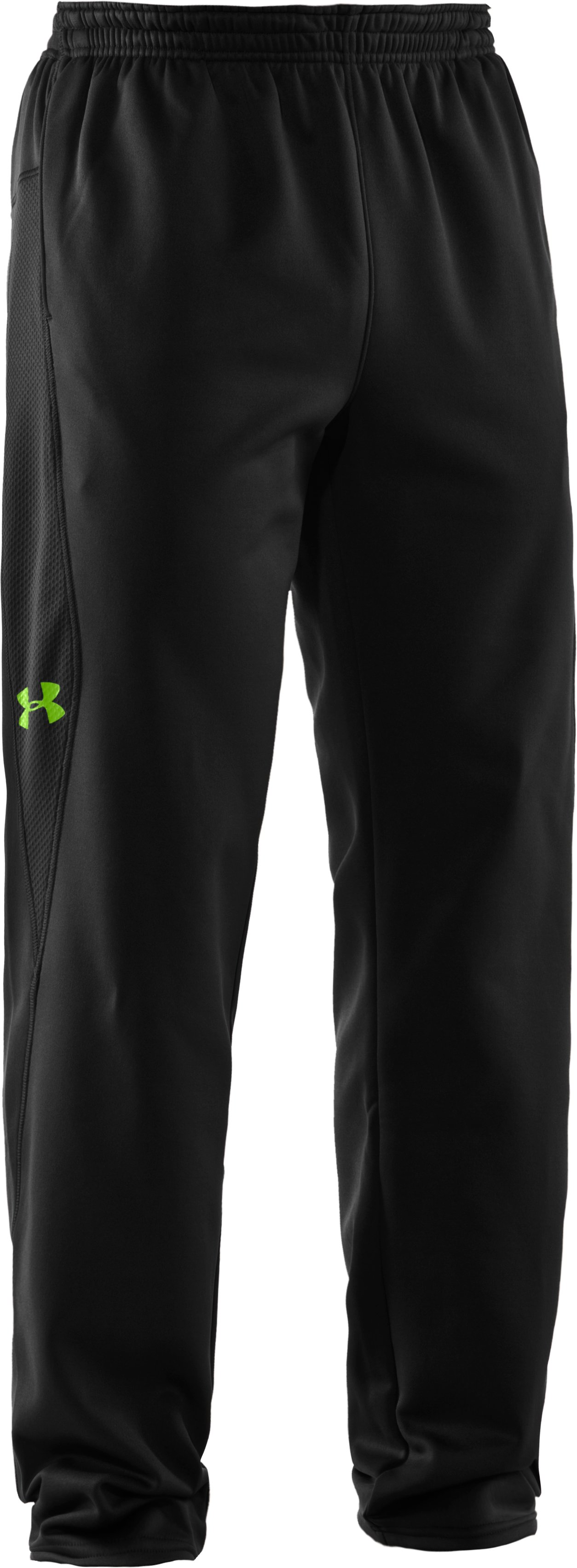 Men's UA Combine® Training Fleece Pants, Black
