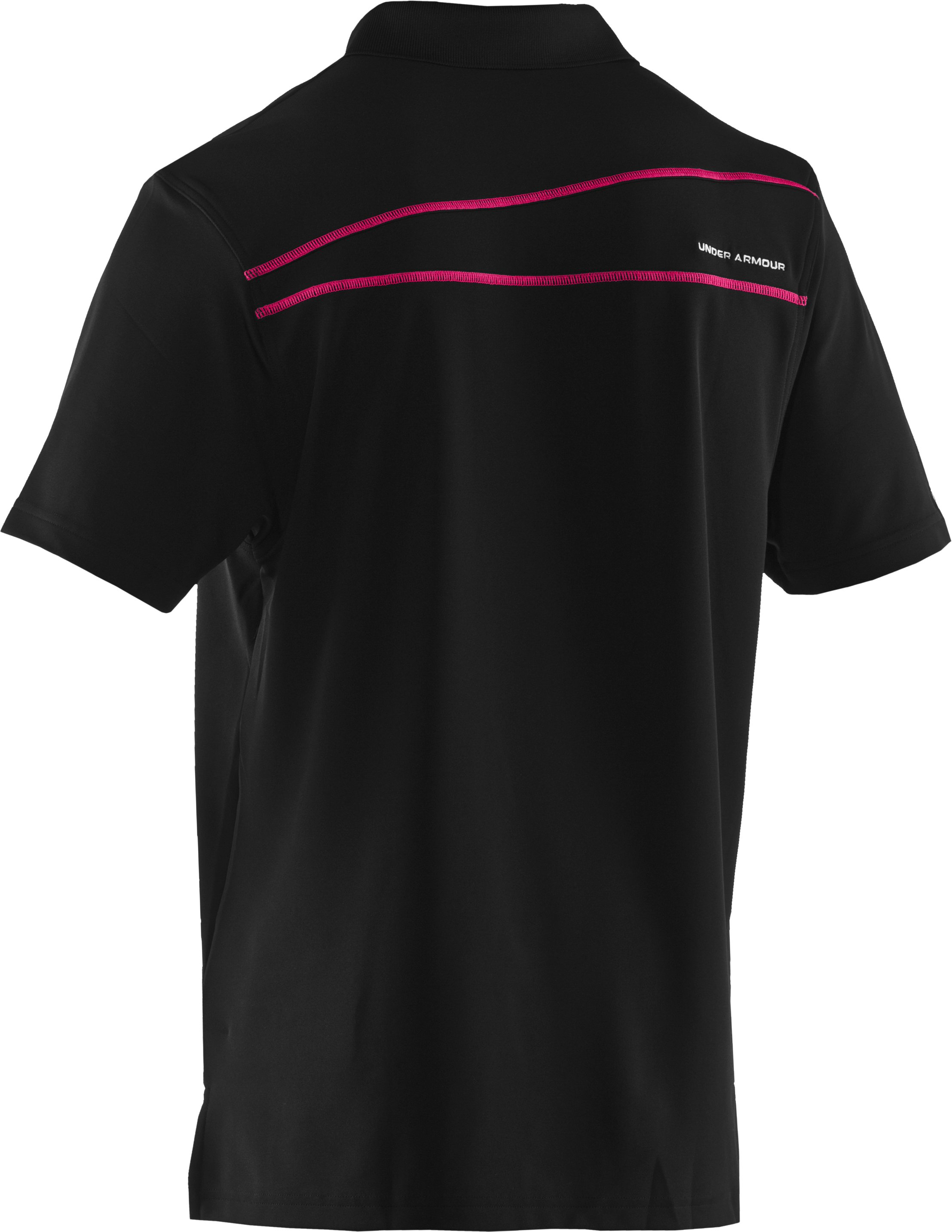 Men's UA PIP® Performance Polo, Black