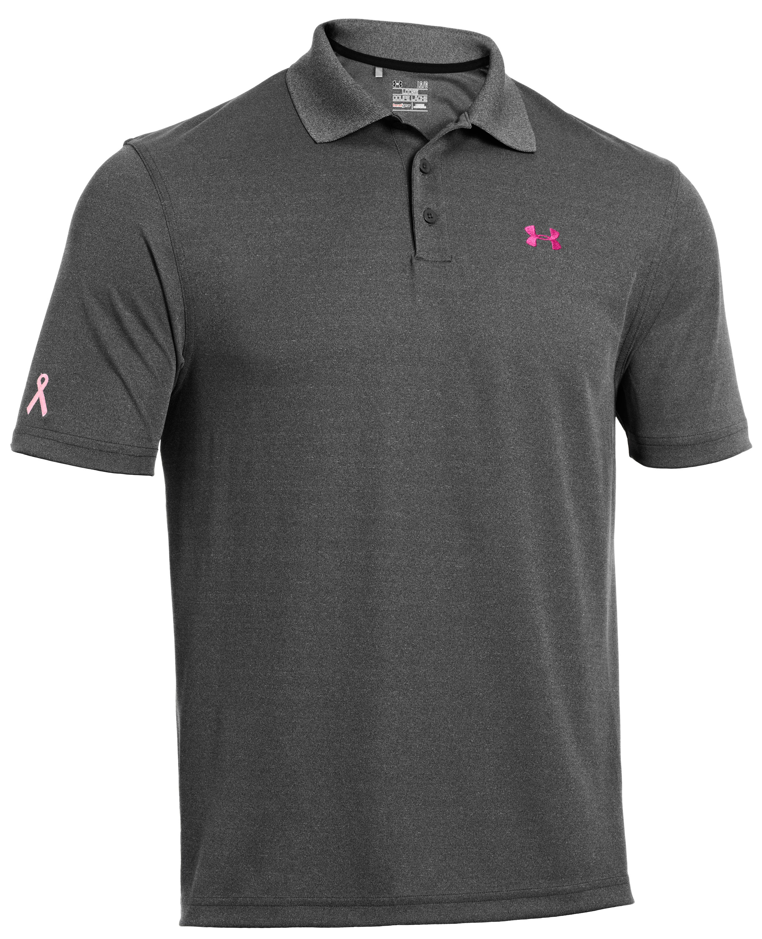 Men's UA PIP® Performance Polo, Carbon Heather, undefined