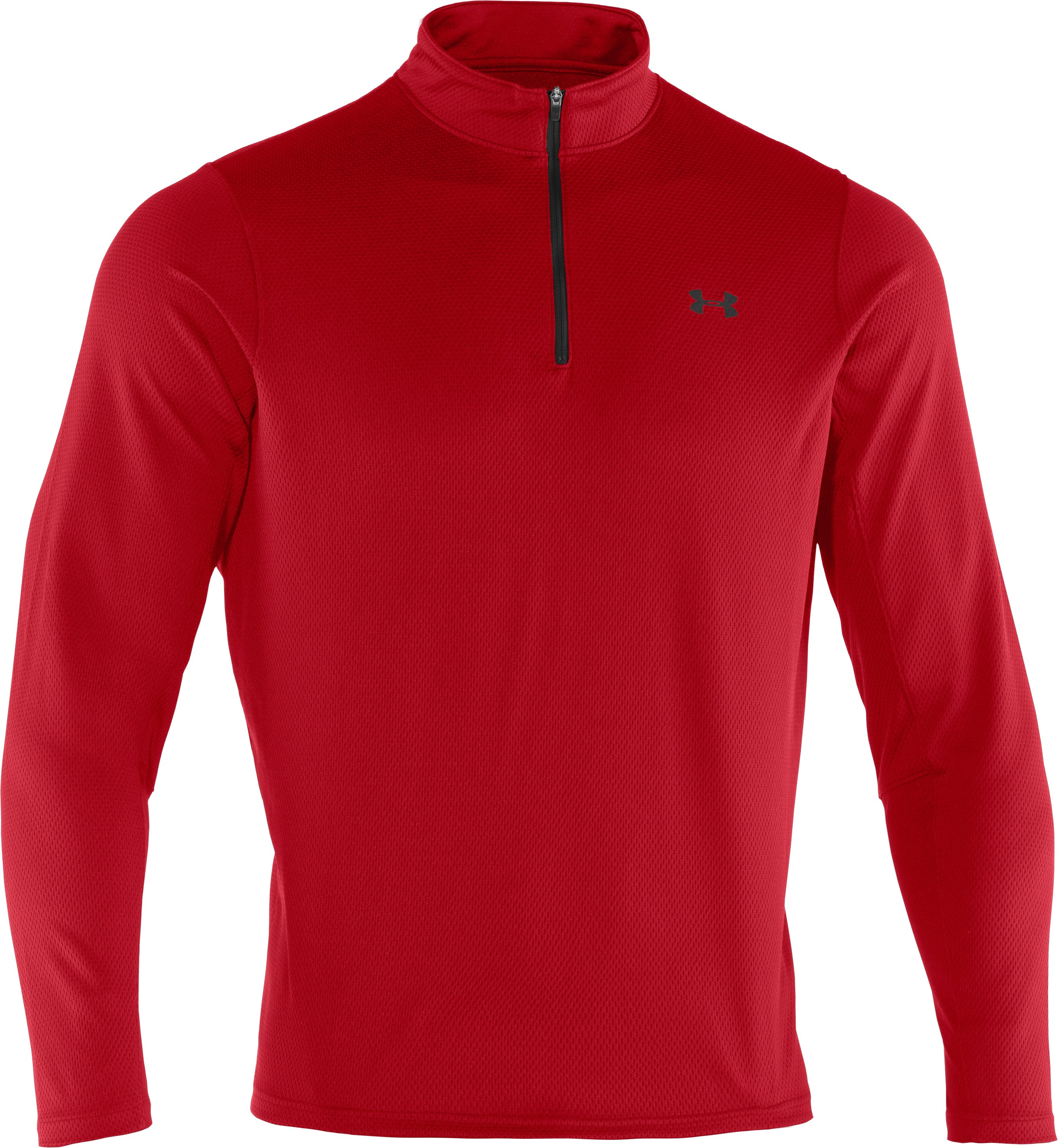Men's AllSeasonGear® ¼ Zip Golf Jacket, Red